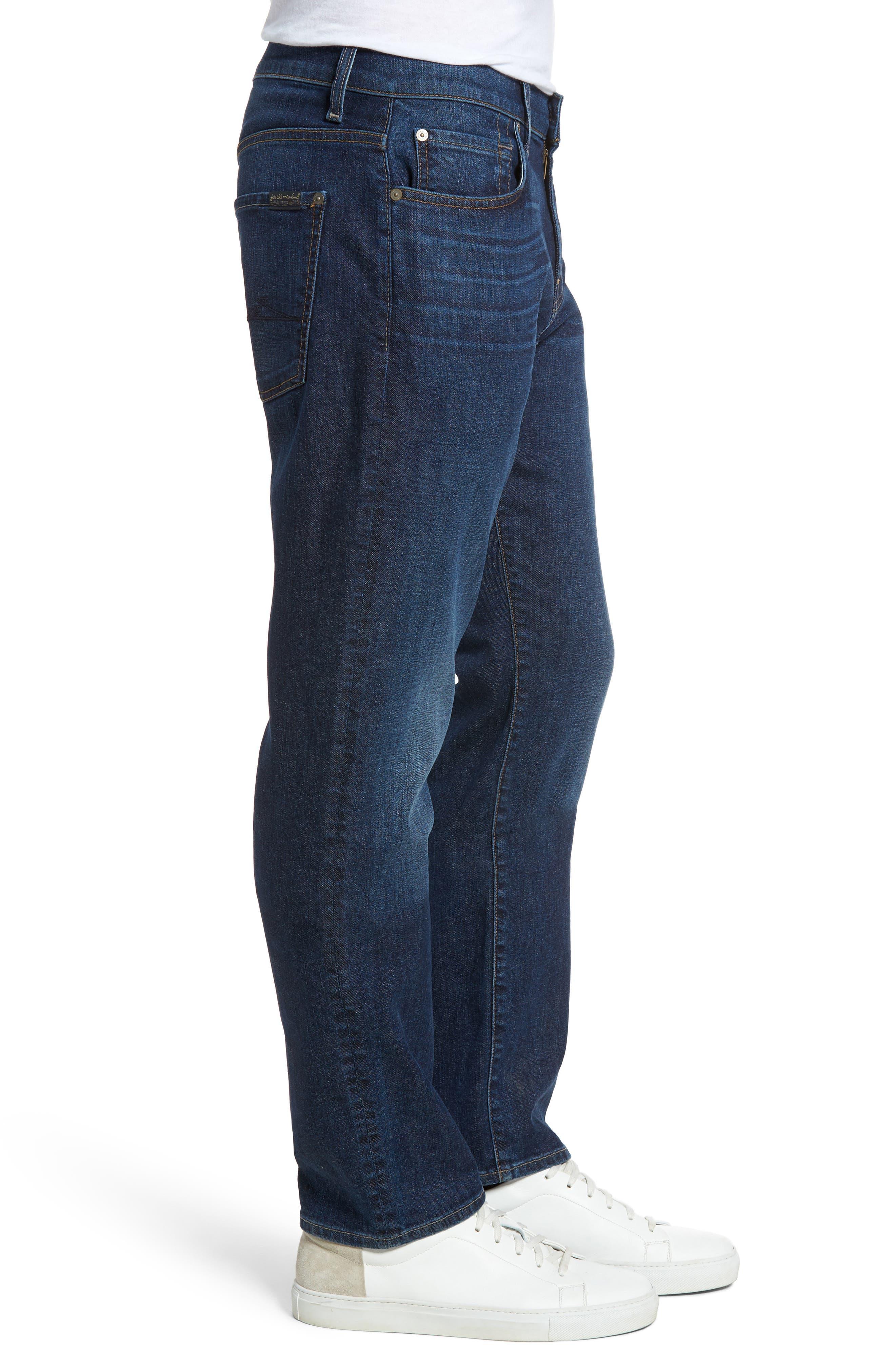 The Straight Slim Straight Leg Jeans,                             Alternate thumbnail 3, color,                             402