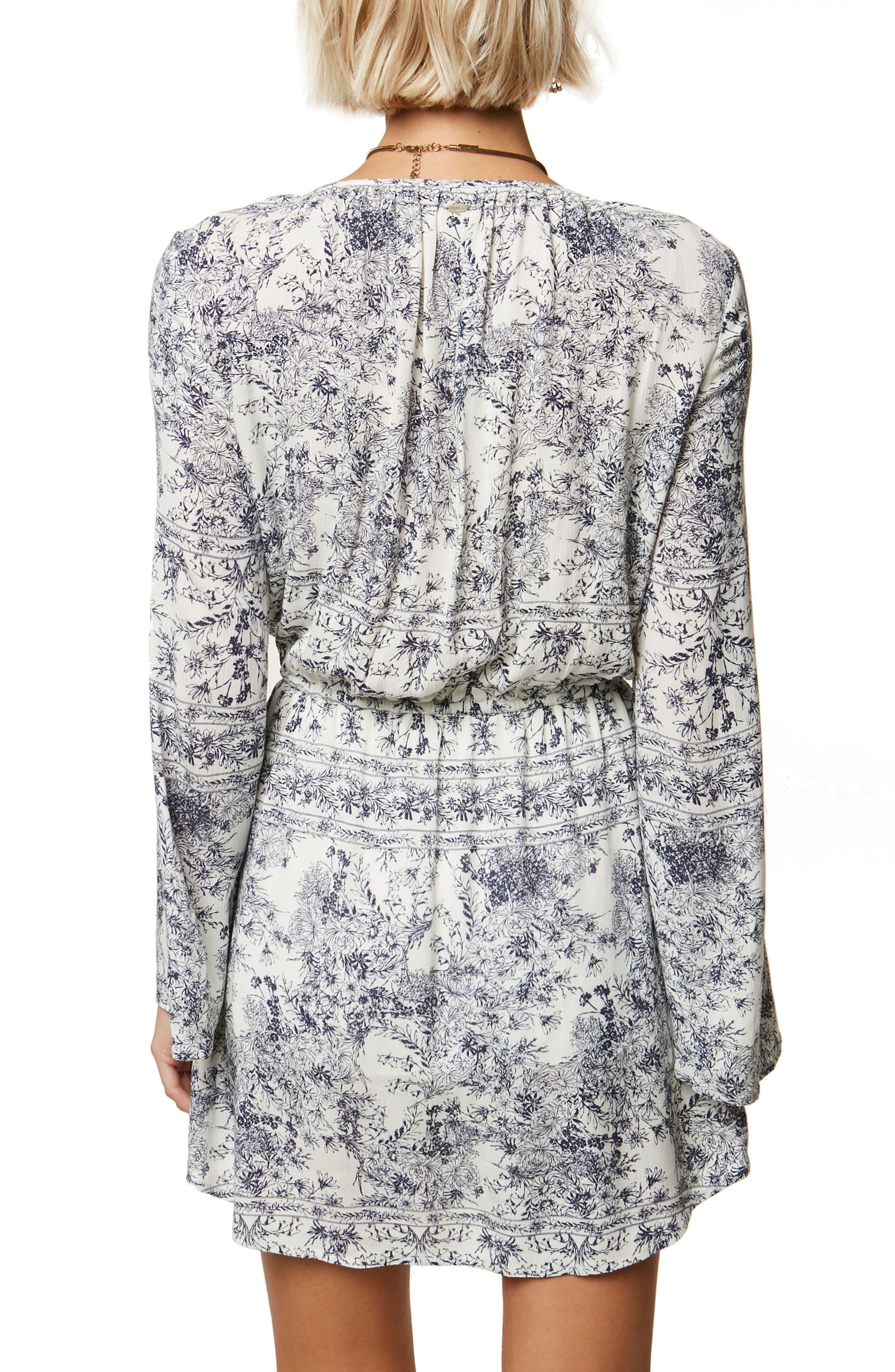 Gretchen Bell Sleeve Blouson Dress,                             Alternate thumbnail 2, color,