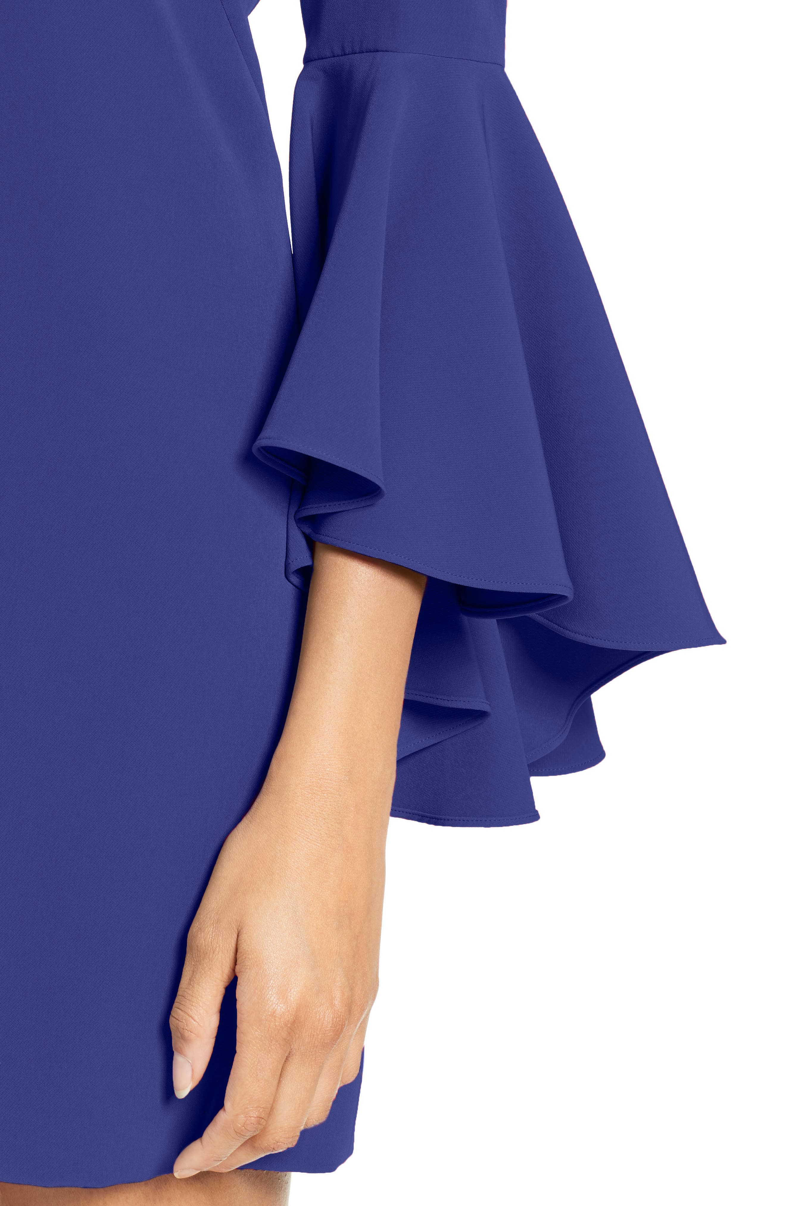 Nicole Bell Sleeve Dress,                             Alternate thumbnail 53, color,