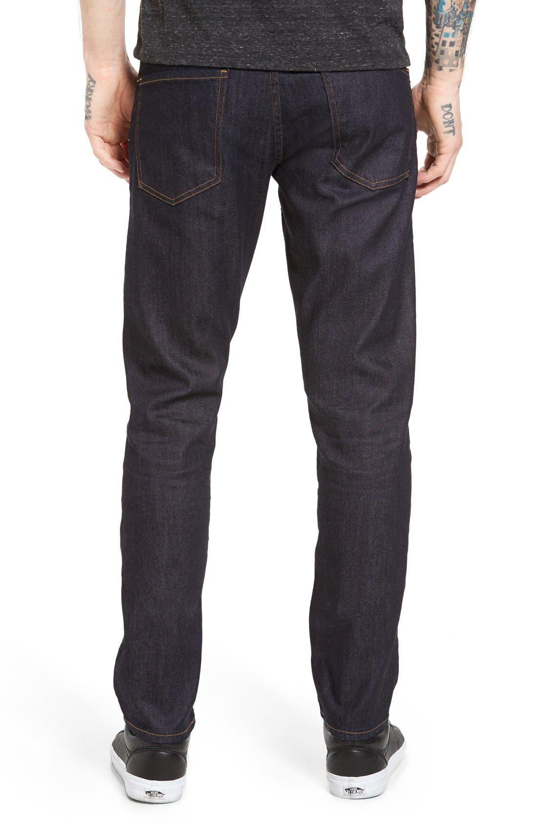 Bowery Slim Fit Jeans,                             Alternate thumbnail 11, color,                             432
