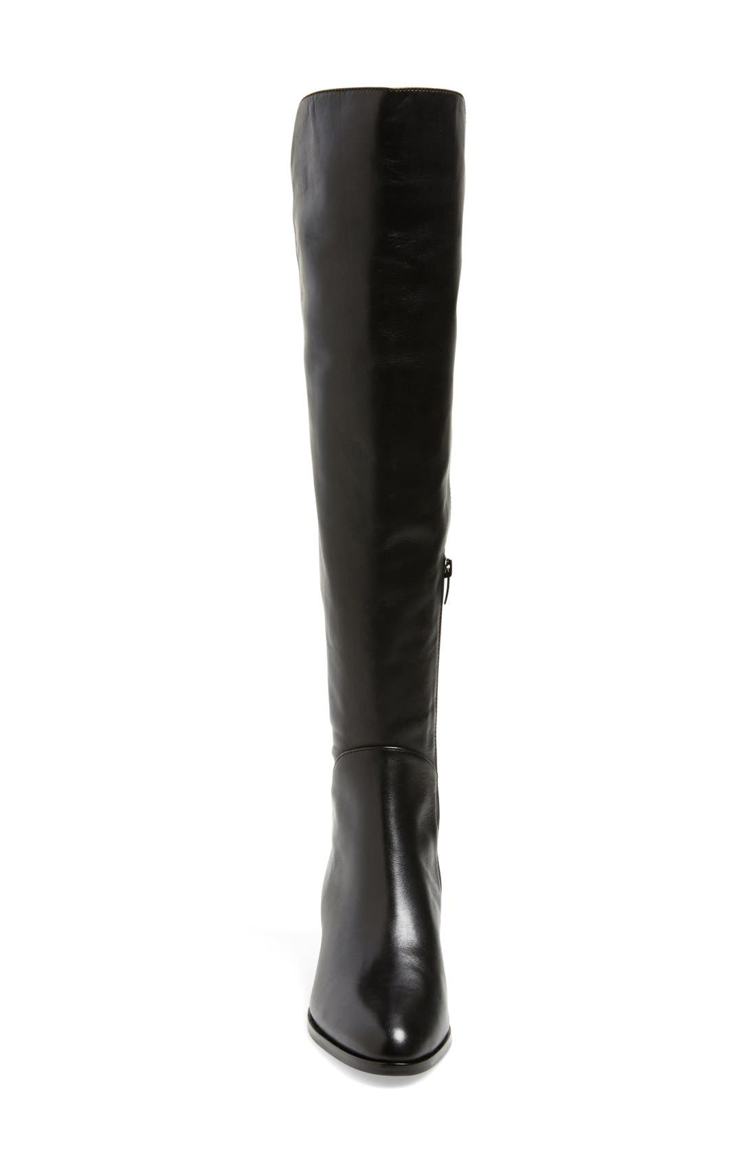 'Alto' Over the Knee Boot,                             Alternate thumbnail 4, color,                             001