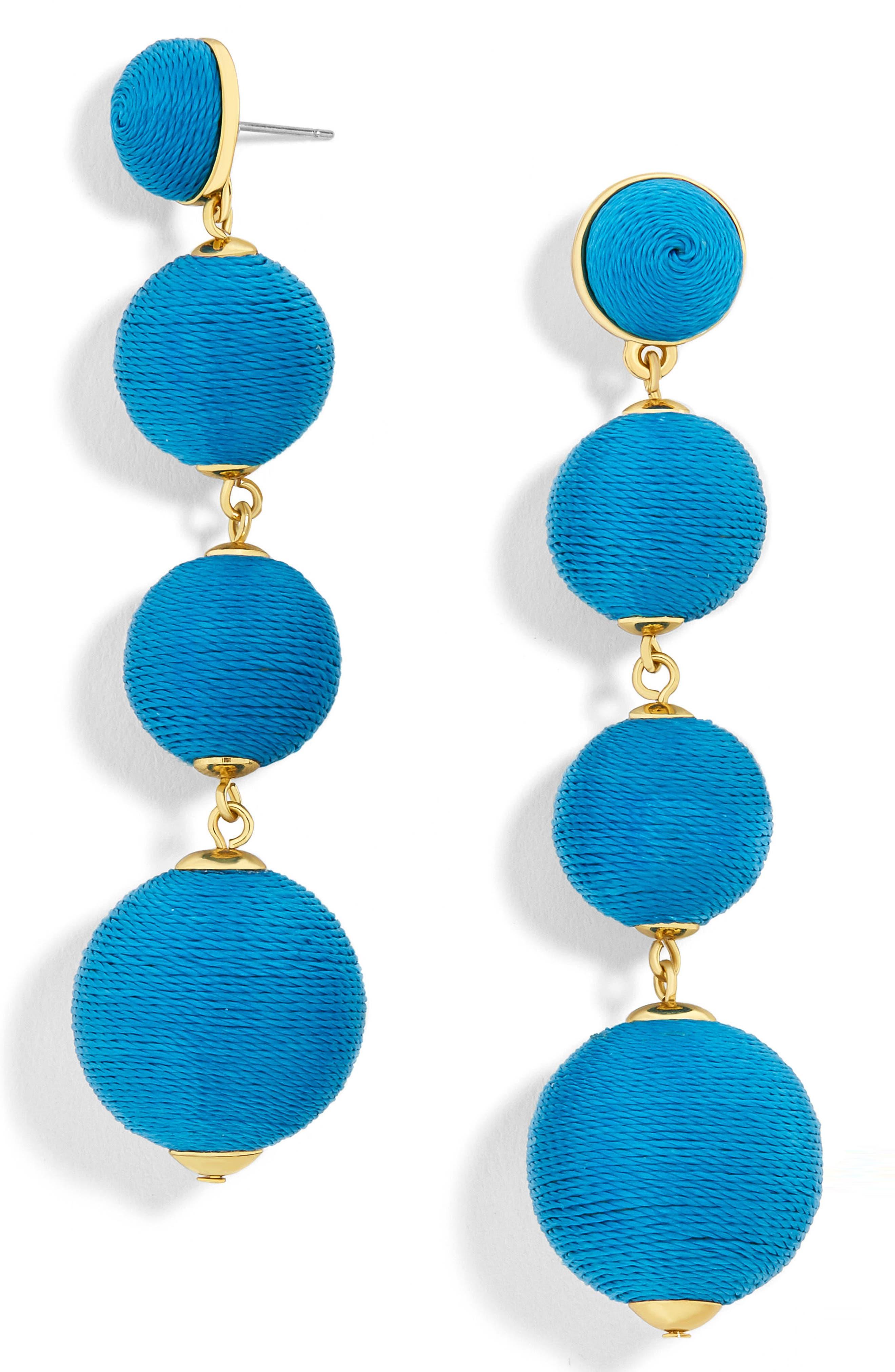 Criselda Ball Shoulder Duster Earrings,                             Main thumbnail 3, color,
