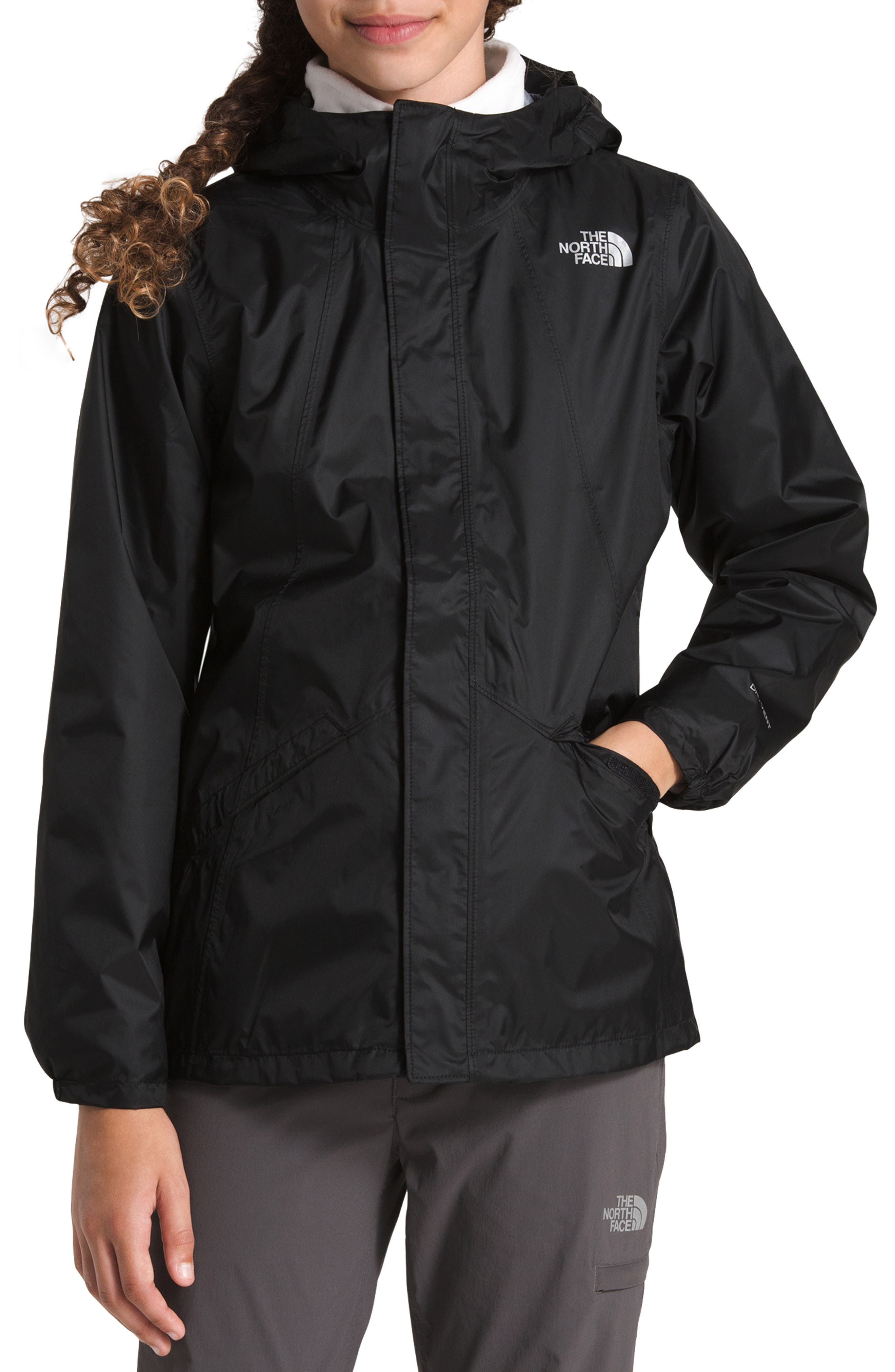 Stormy Rain Triclimate<sup>®</sup> Waterproof 3-in-1 Jacket,                             Alternate thumbnail 2, color,                             TNF BLACK