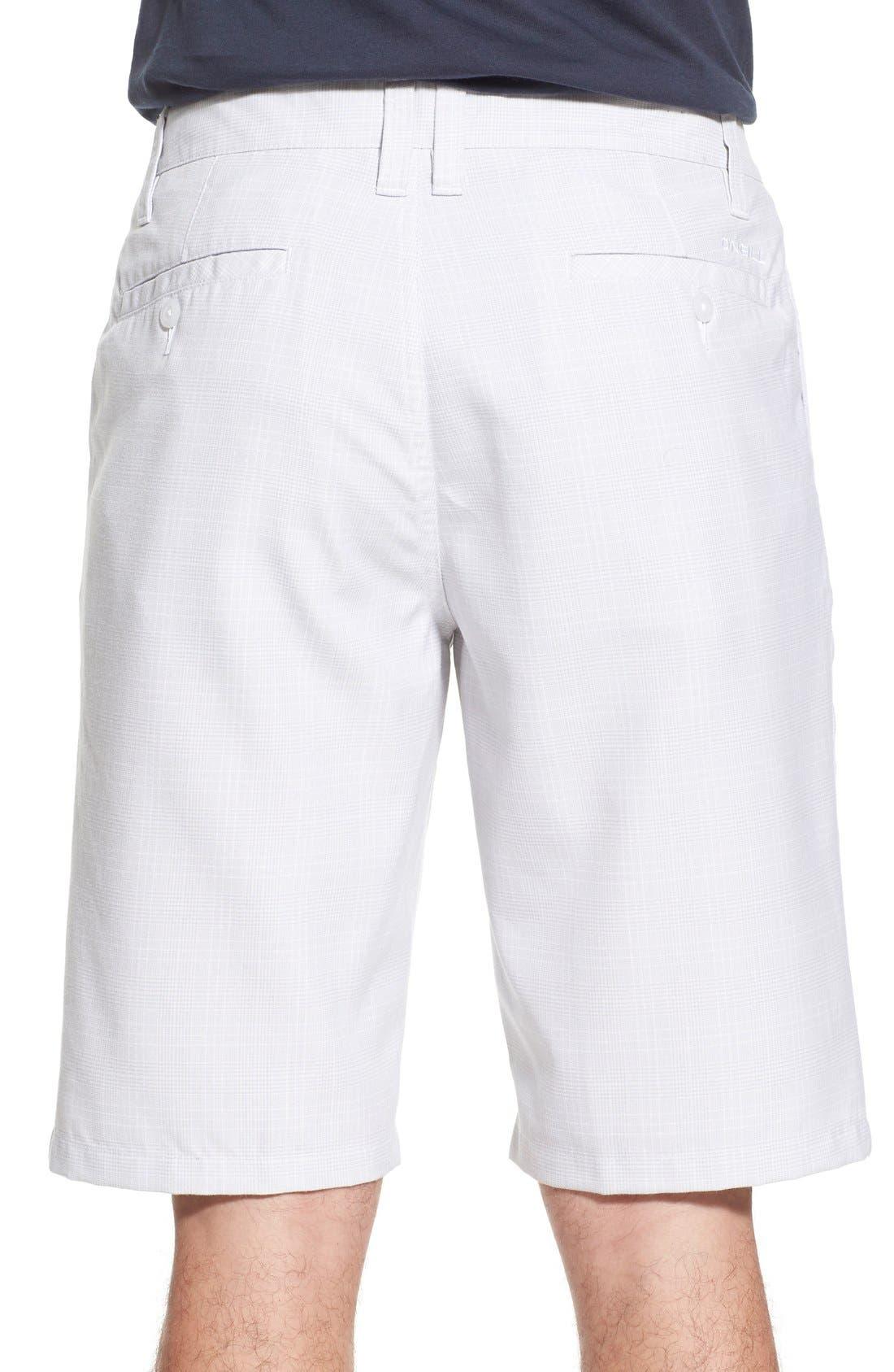 'Delta Plaid' Chino Shorts,                             Alternate thumbnail 8, color,