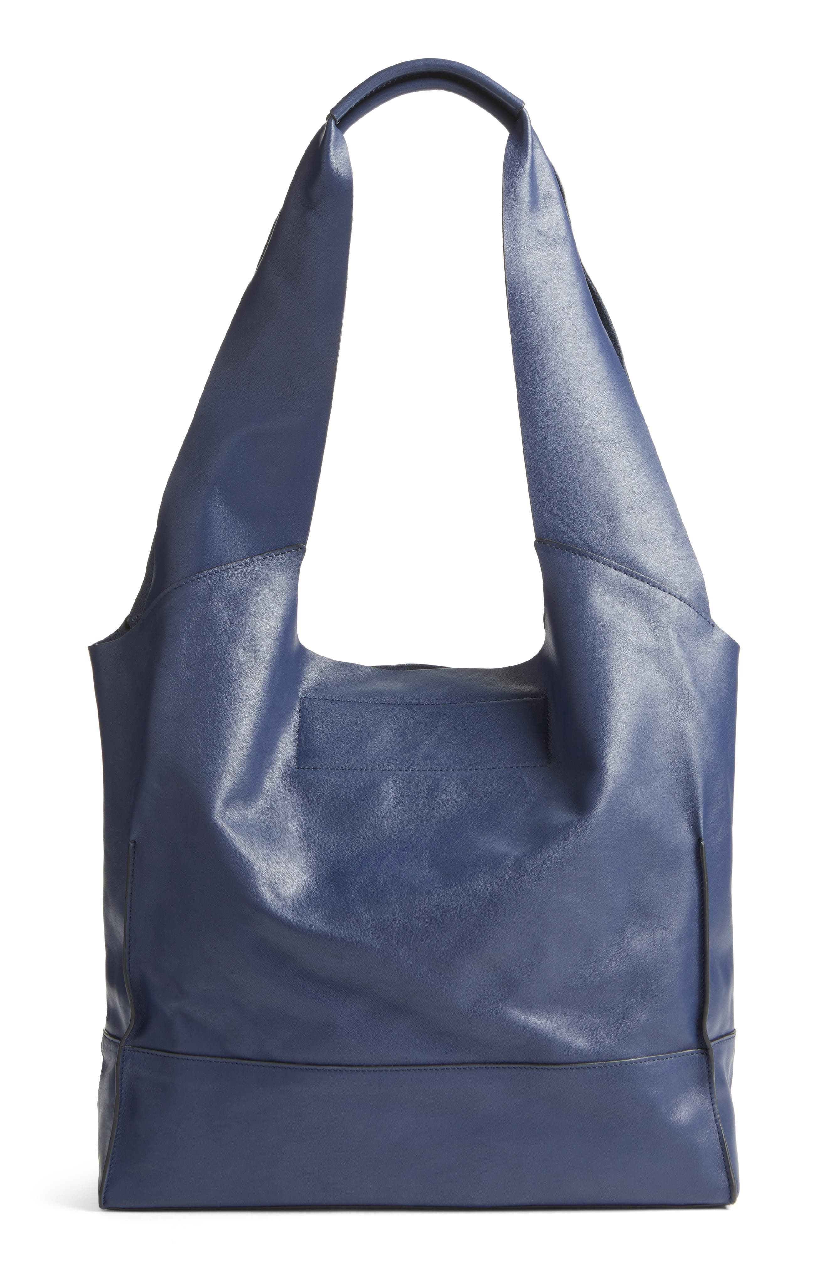 Walker Leather Tote,                             Alternate thumbnail 2, color,