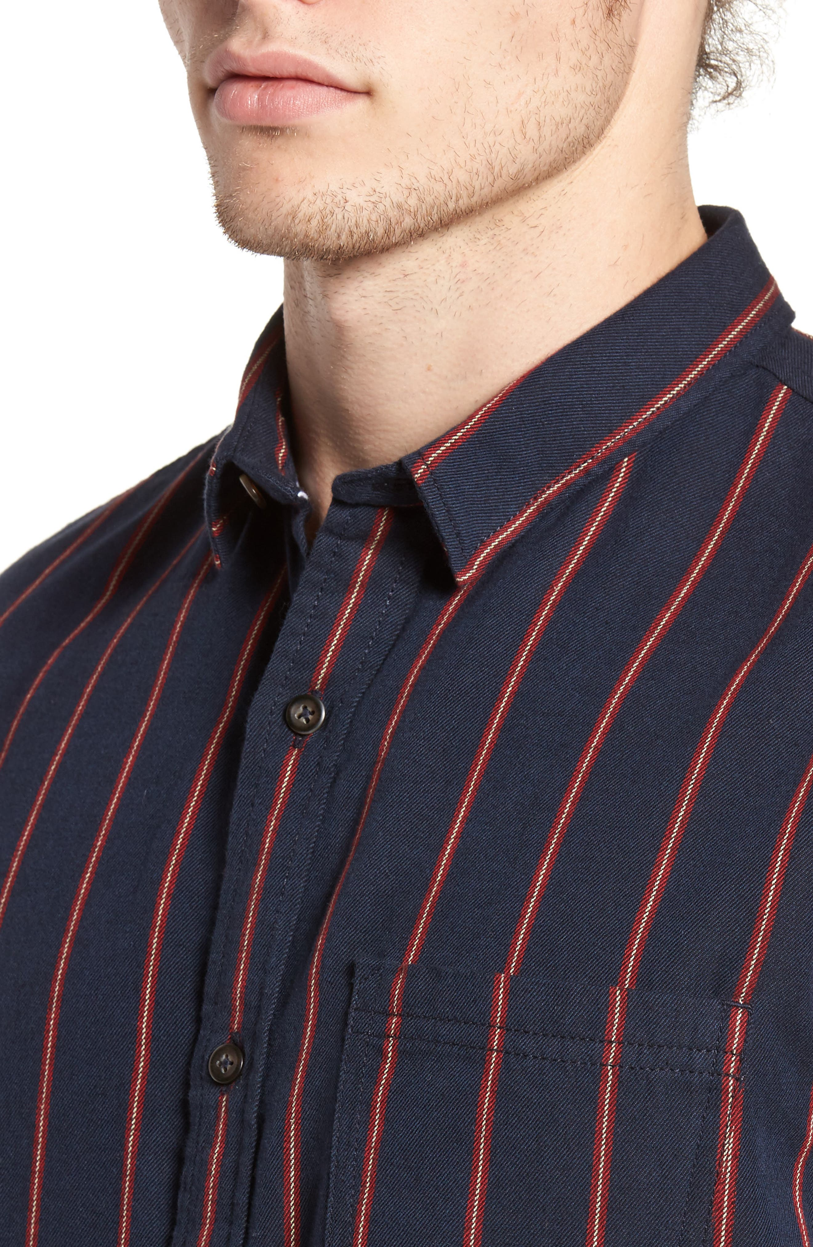 The Rail Short Sleeve Twill Shirt,                             Alternate thumbnail 8, color,