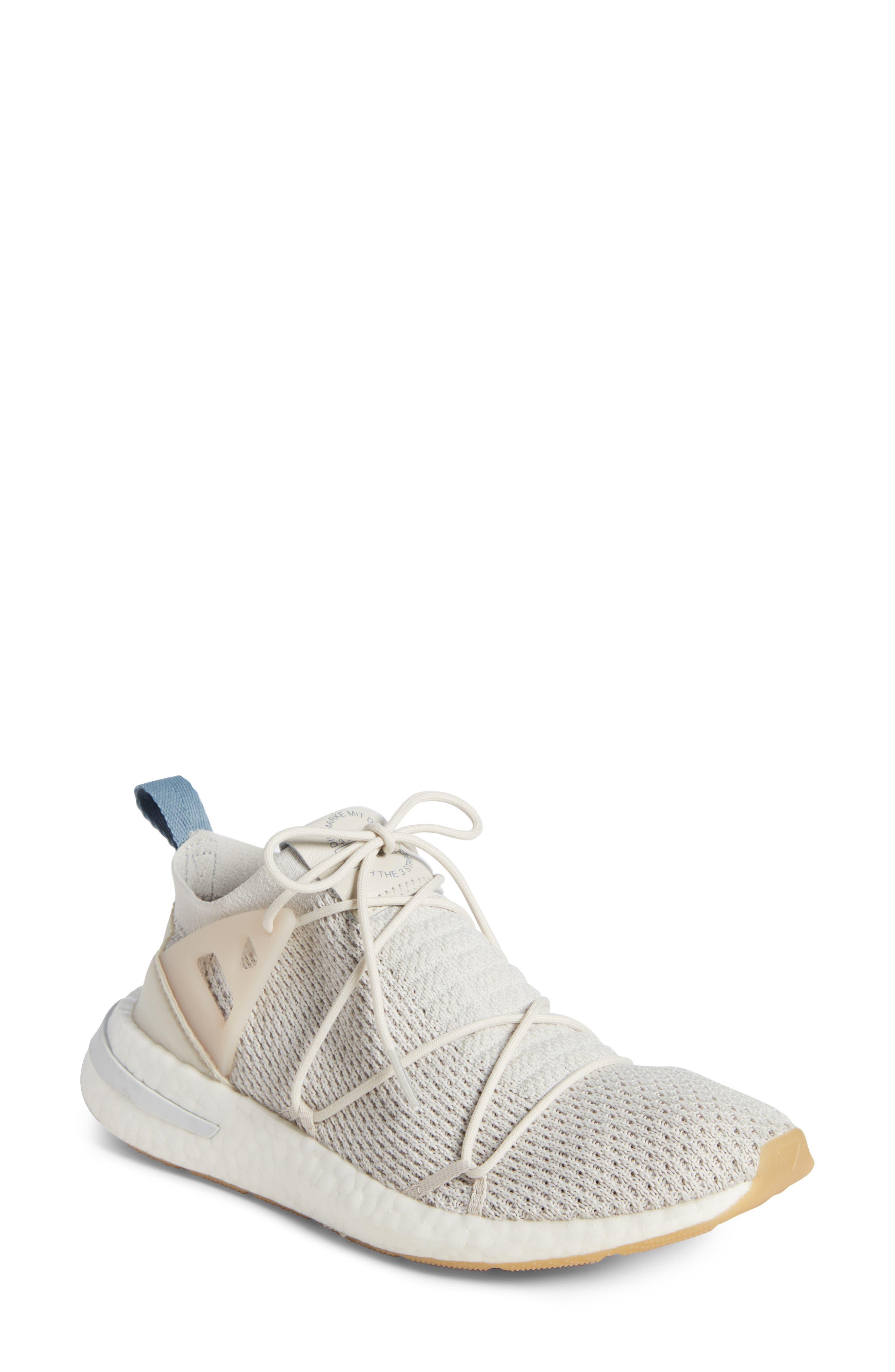 Arkyn Primeknit Sneaker,                             Main thumbnail 1, color,                             TALC/ TALC/ LINEN