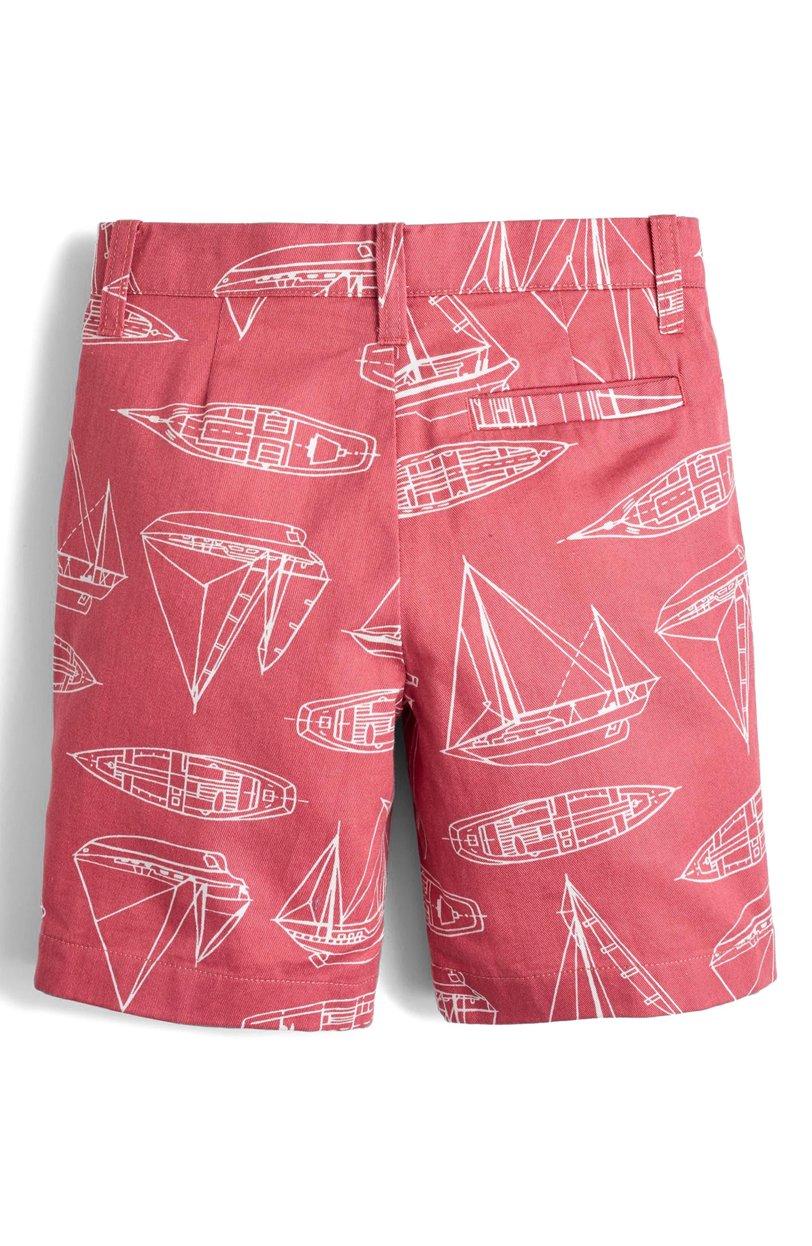 Stanton Boat Print Shorts,                             Alternate thumbnail 2, color,                             600