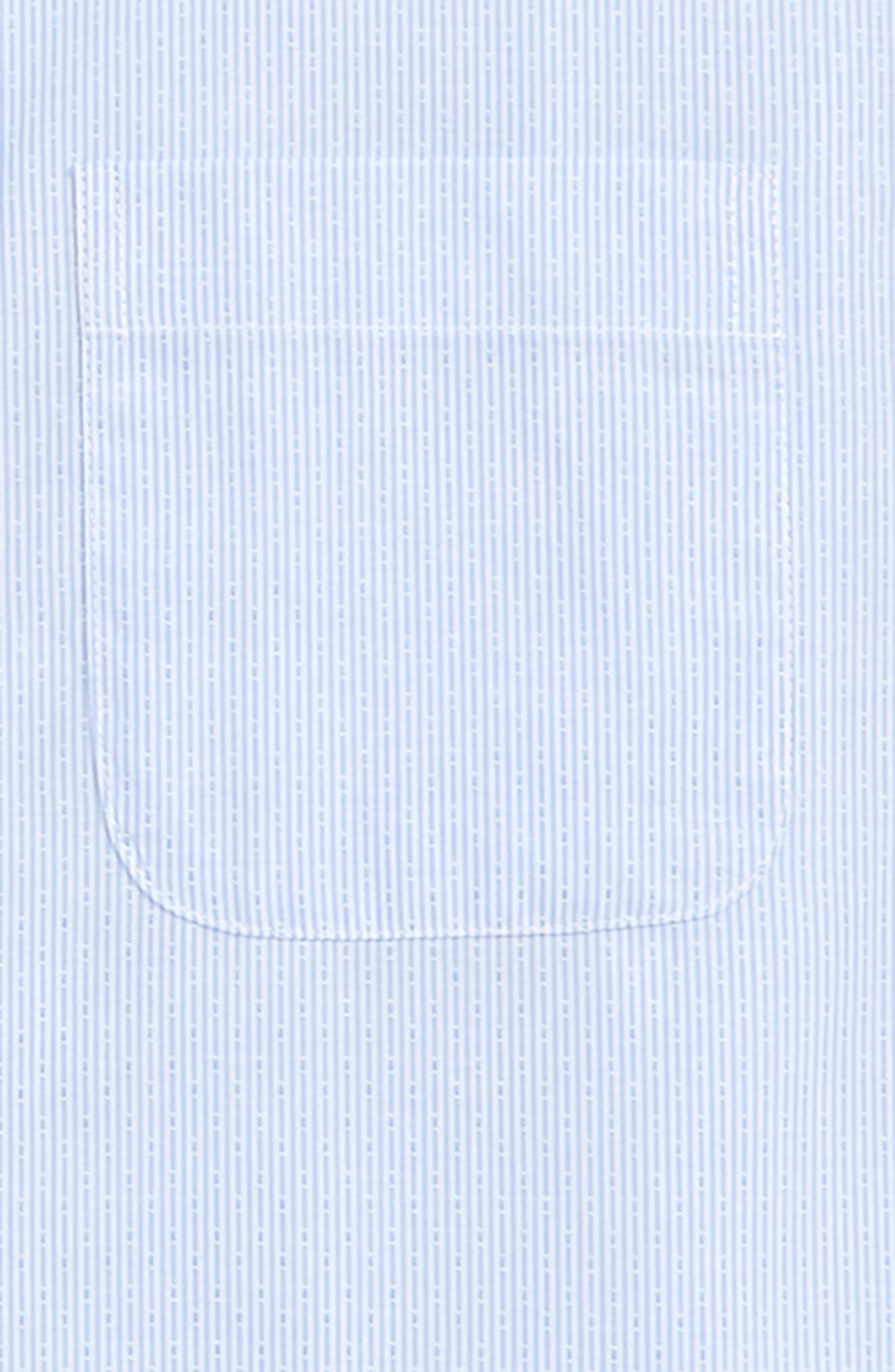 Robbia Dobby Dress Shirt,                             Alternate thumbnail 2, color,                             BLUE ROBBIA- WHITE DOBBY