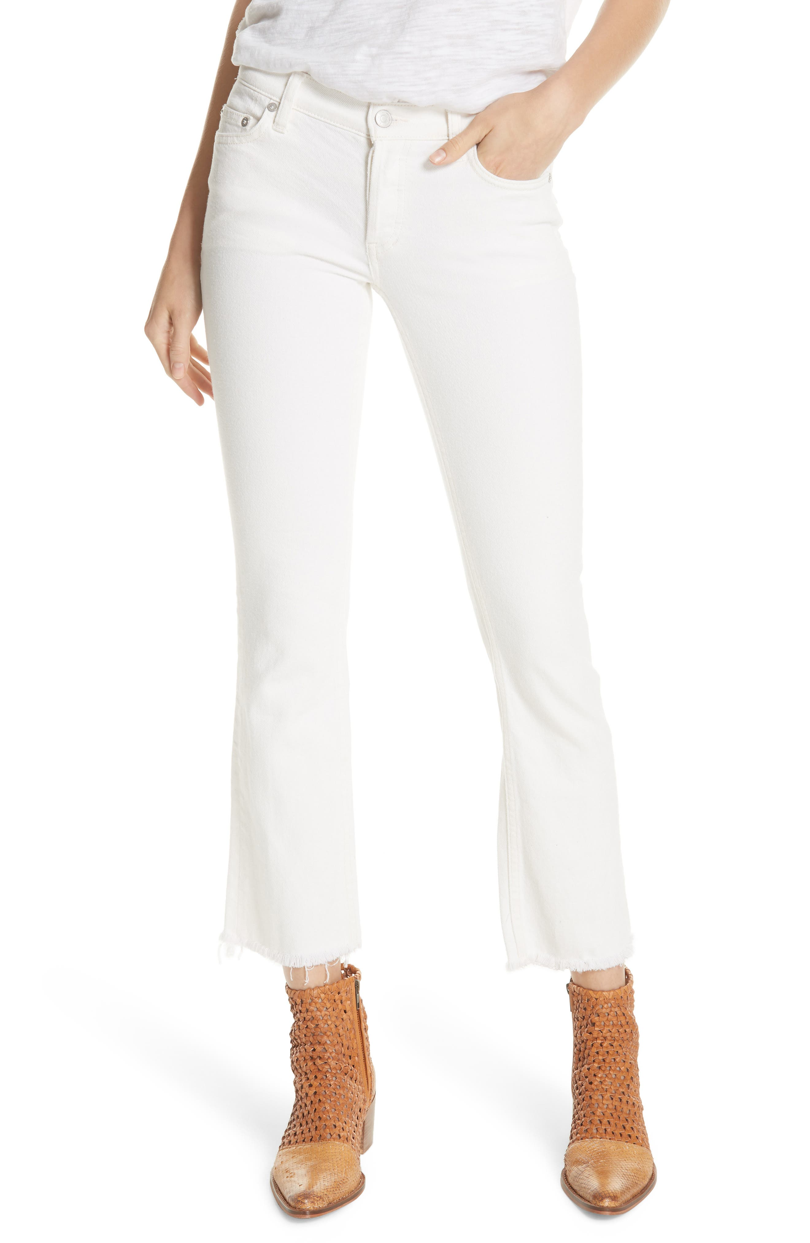 We the Free by Free People Austen Straight Leg Jeans,                         Main,                         color, 100