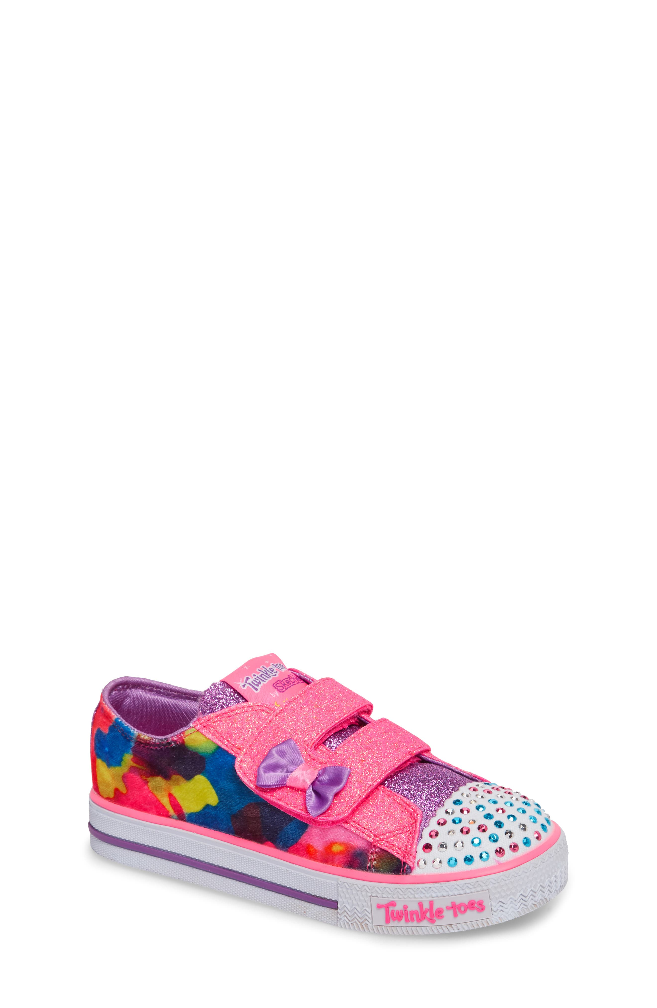 Shuffles - Itsy Bitsy Light-Up Sneaker,                             Main thumbnail 3, color,
