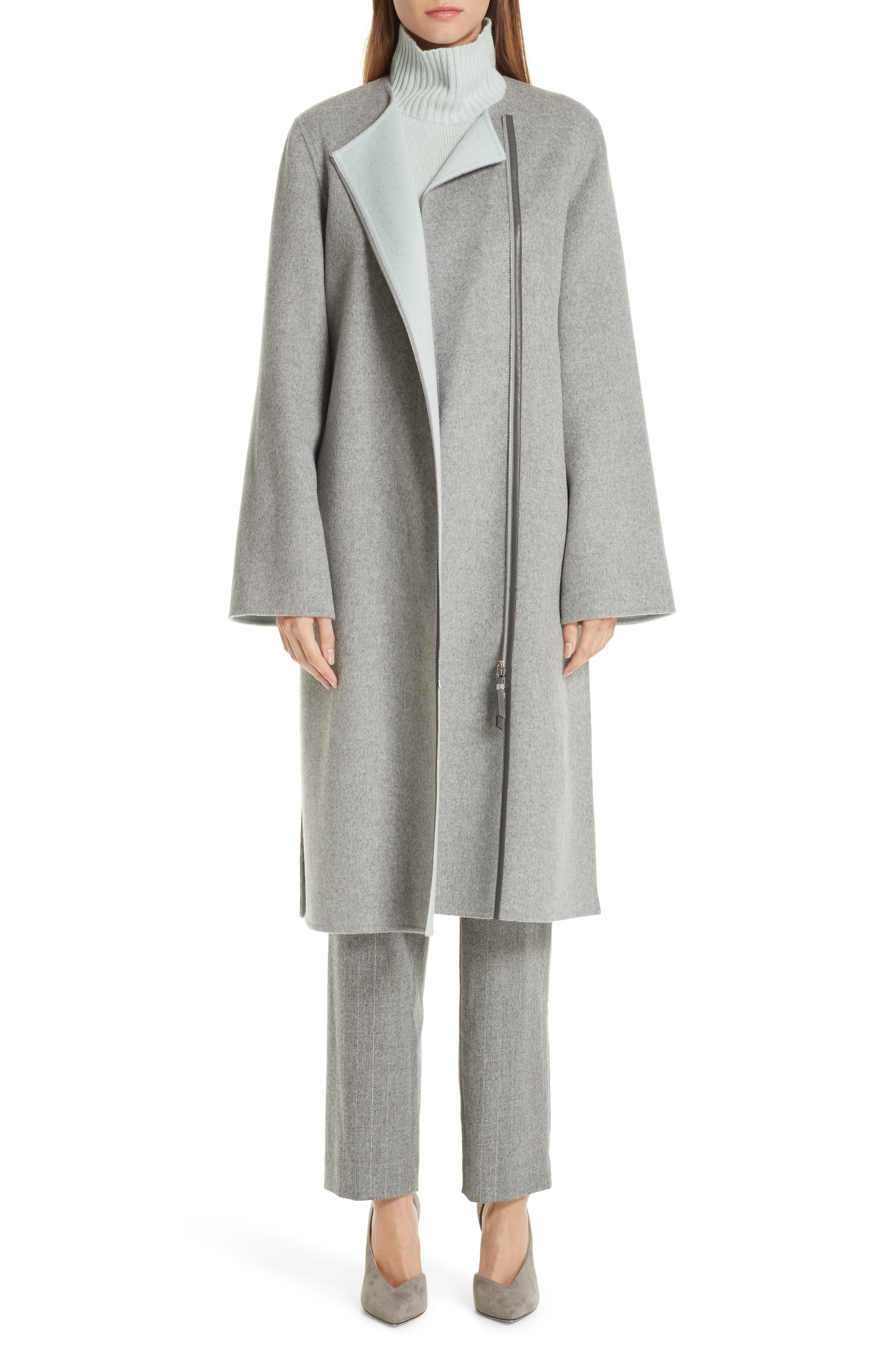 LAFAYETTE 148 NEW YORK,                             Relaxed Cashmere Turtleneck Sweater,                             Alternate thumbnail 7, color,                             400