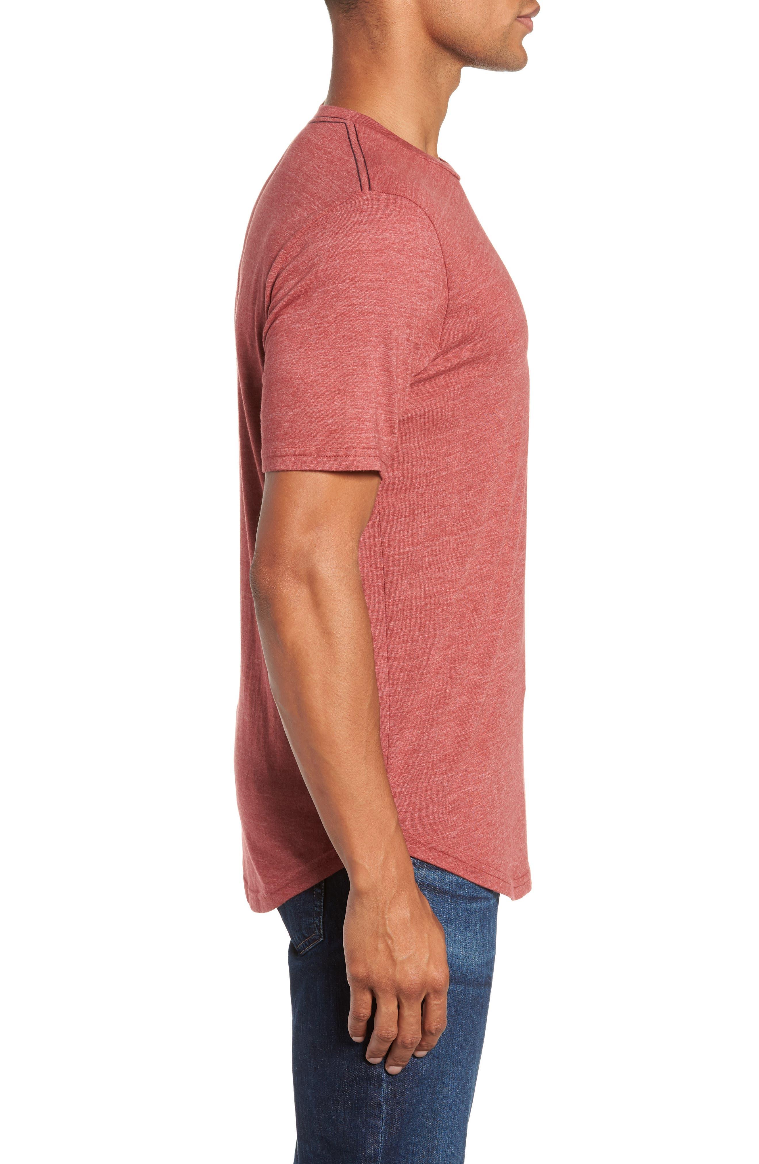 Scallop Triblend Crewneck T-Shirt,                             Alternate thumbnail 59, color,