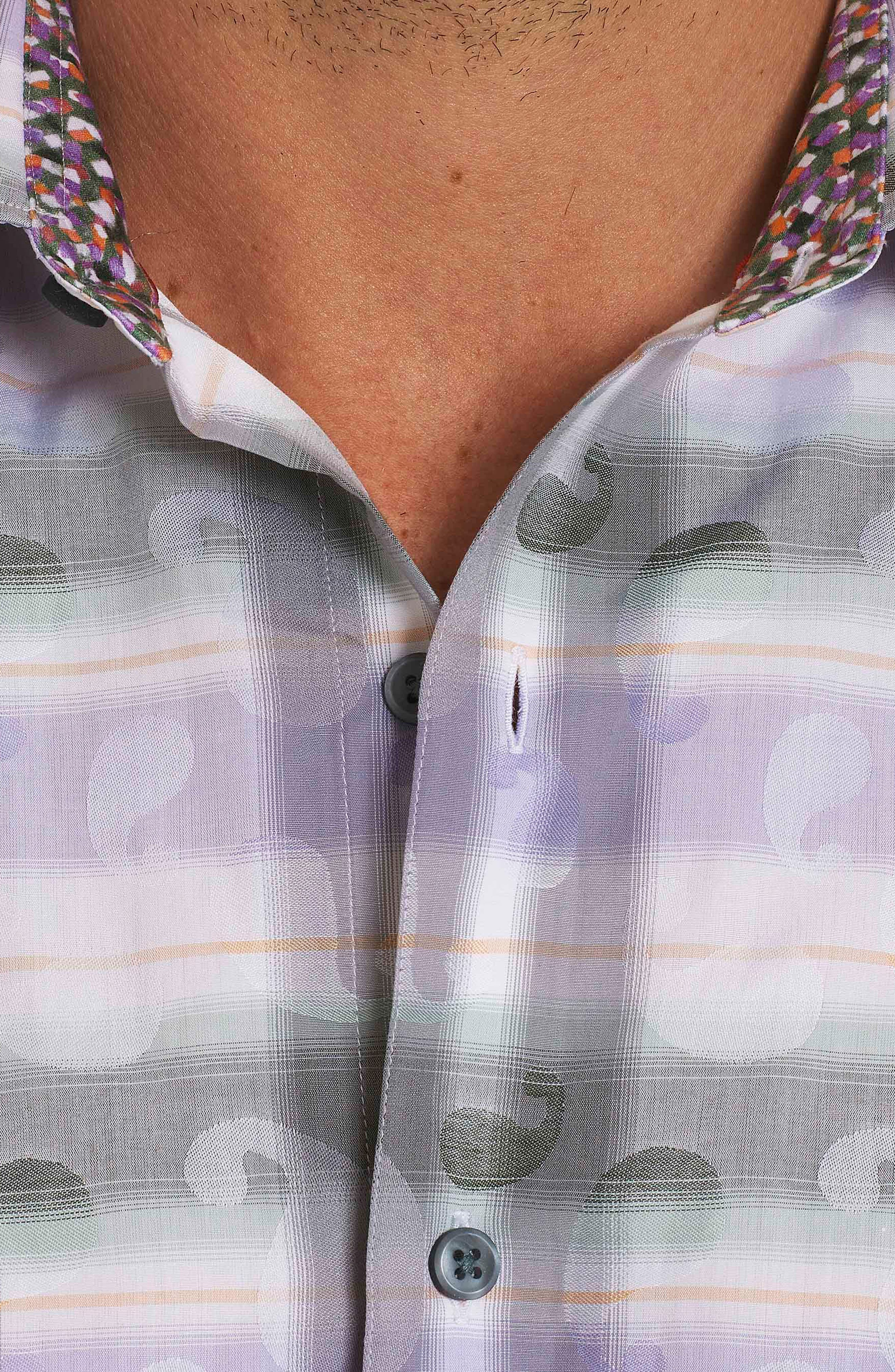 Santos Classic Fit Sport Shirt,                             Alternate thumbnail 3, color,                             278