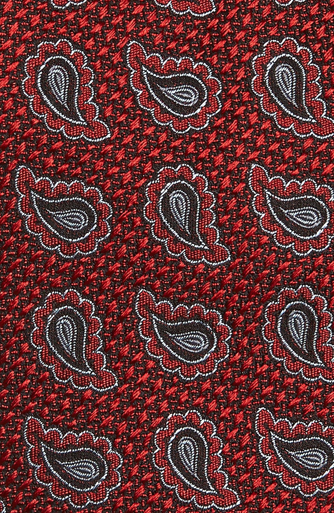 Paisley Silk Tie,                             Alternate thumbnail 2, color,                             608