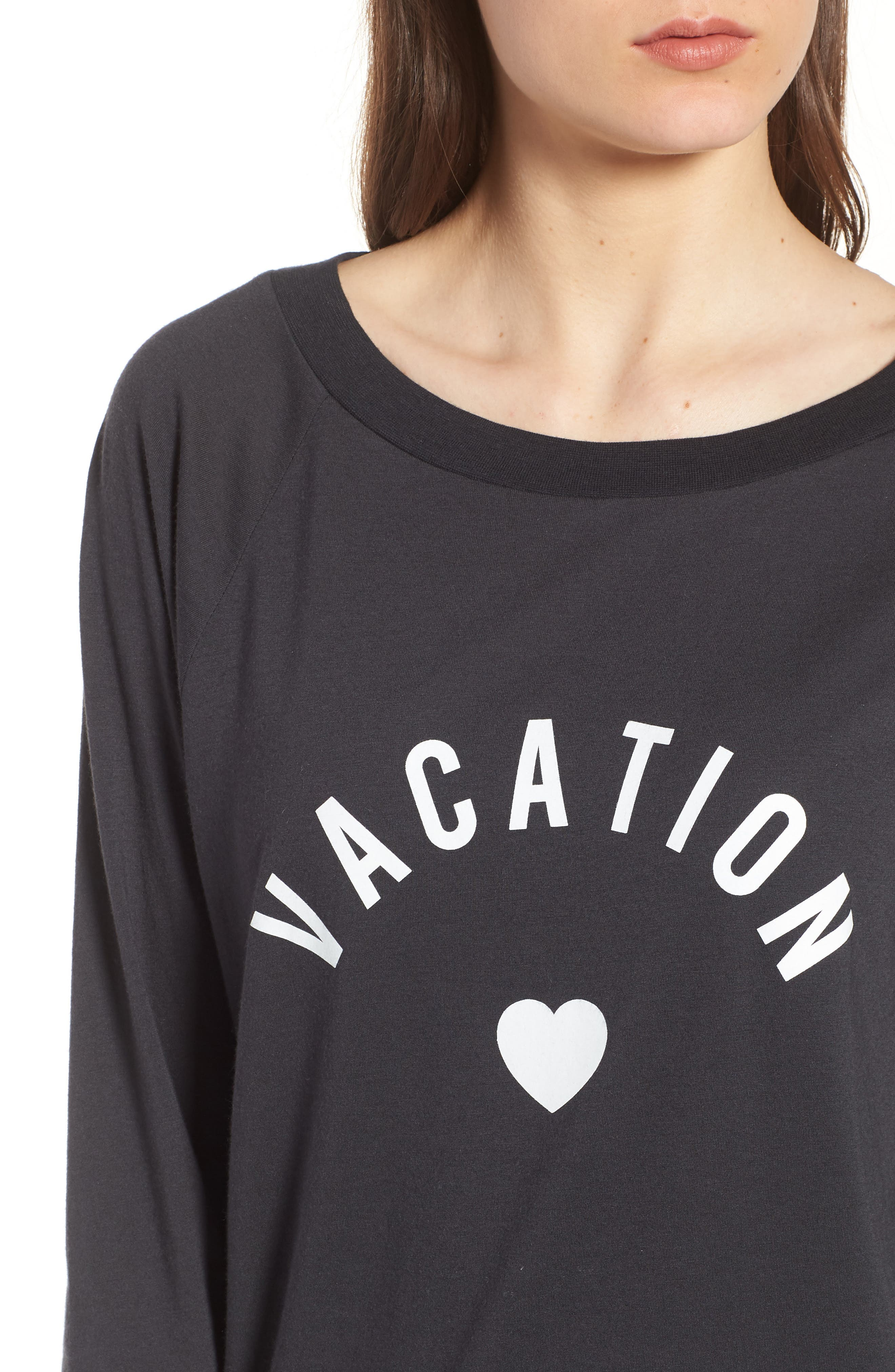 Candy - Vacation Pullover,                             Alternate thumbnail 4, color,                             BLACK