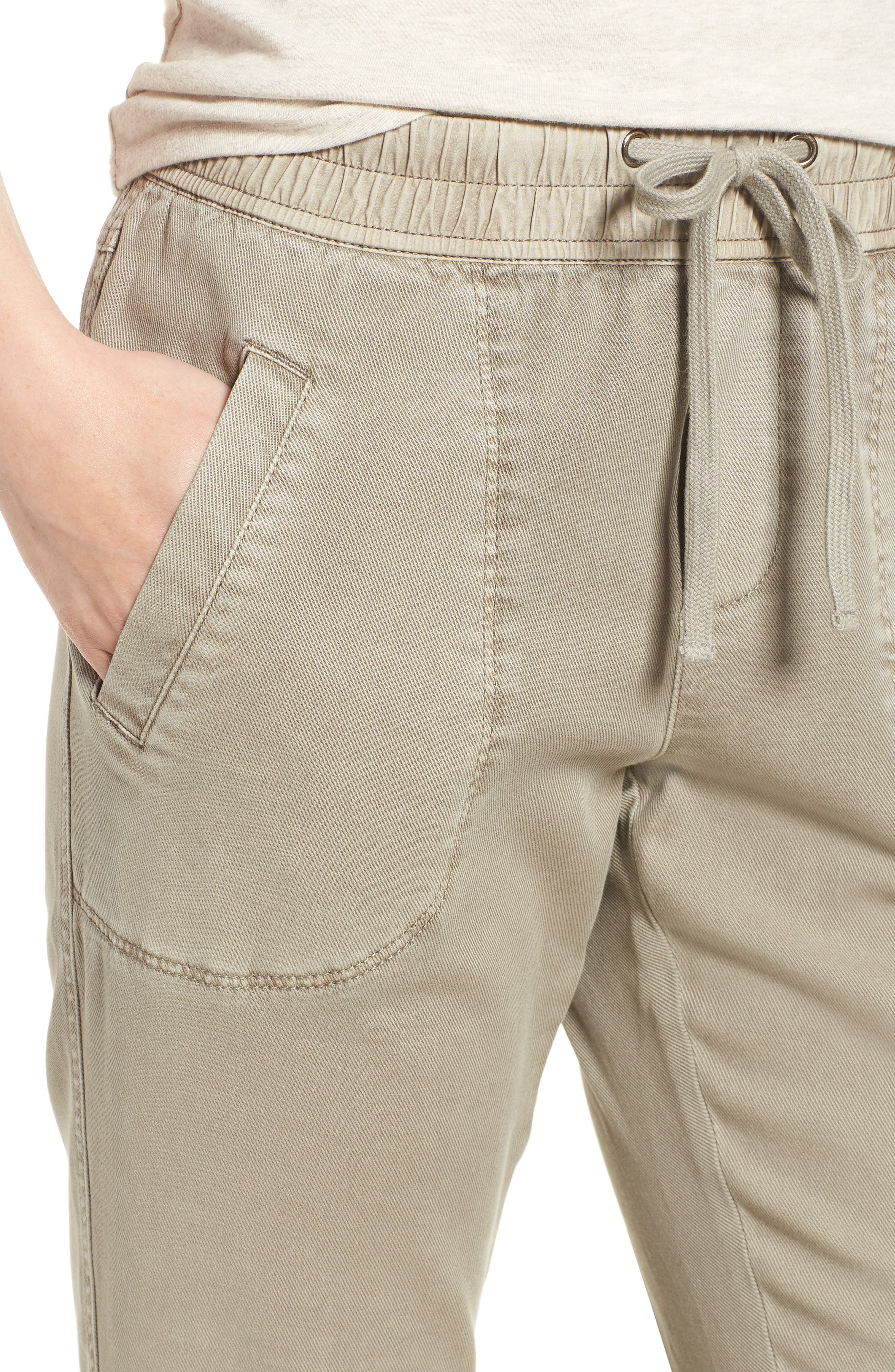 Open Road Ankle Pants,                             Alternate thumbnail 4, color,                             FLAX