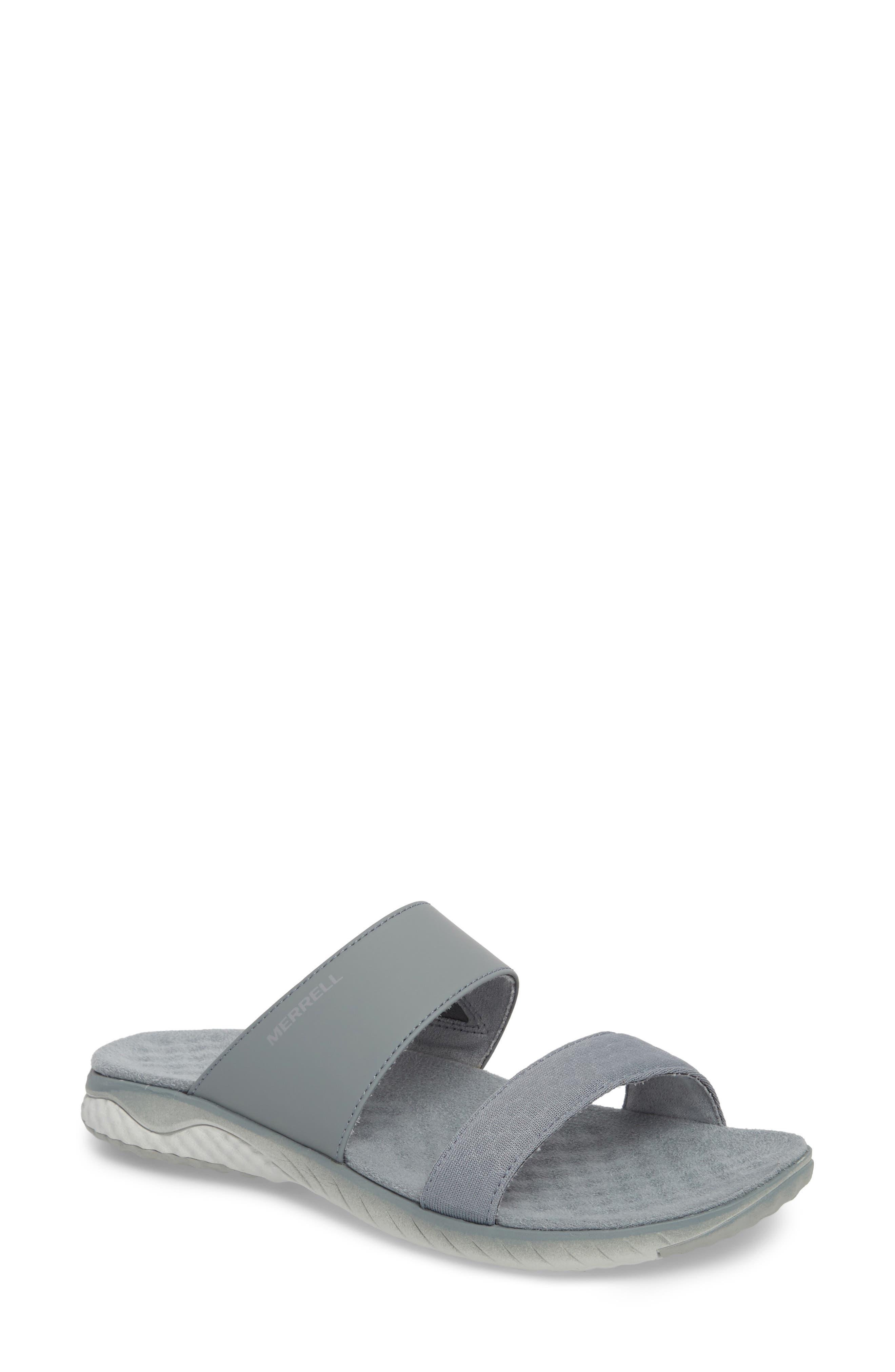 1SIX8 Linna Air Cushion+ Slide Sandal,                             Main thumbnail 2, color,