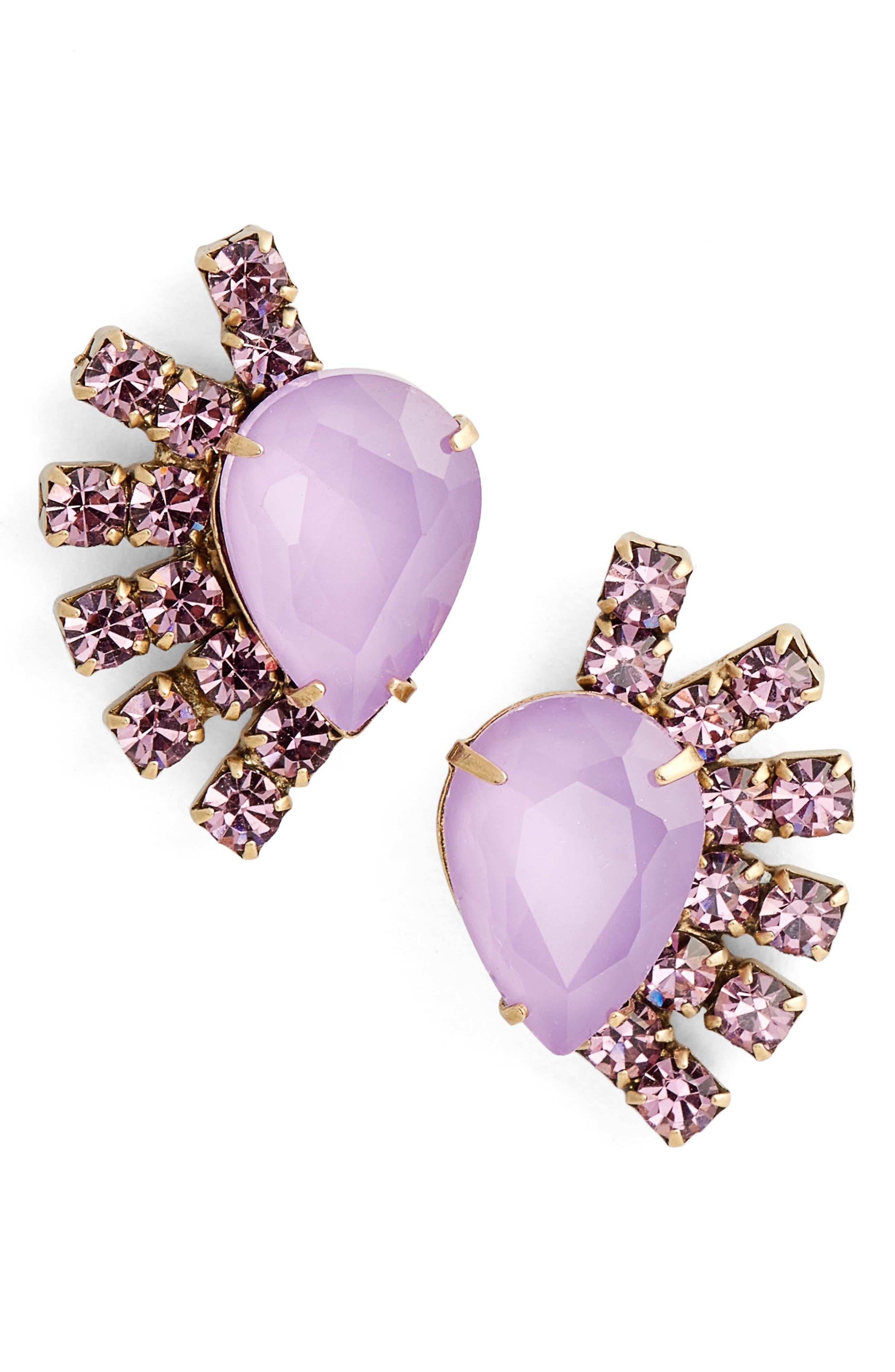 Olivia Stud Earrings,                             Main thumbnail 5, color,