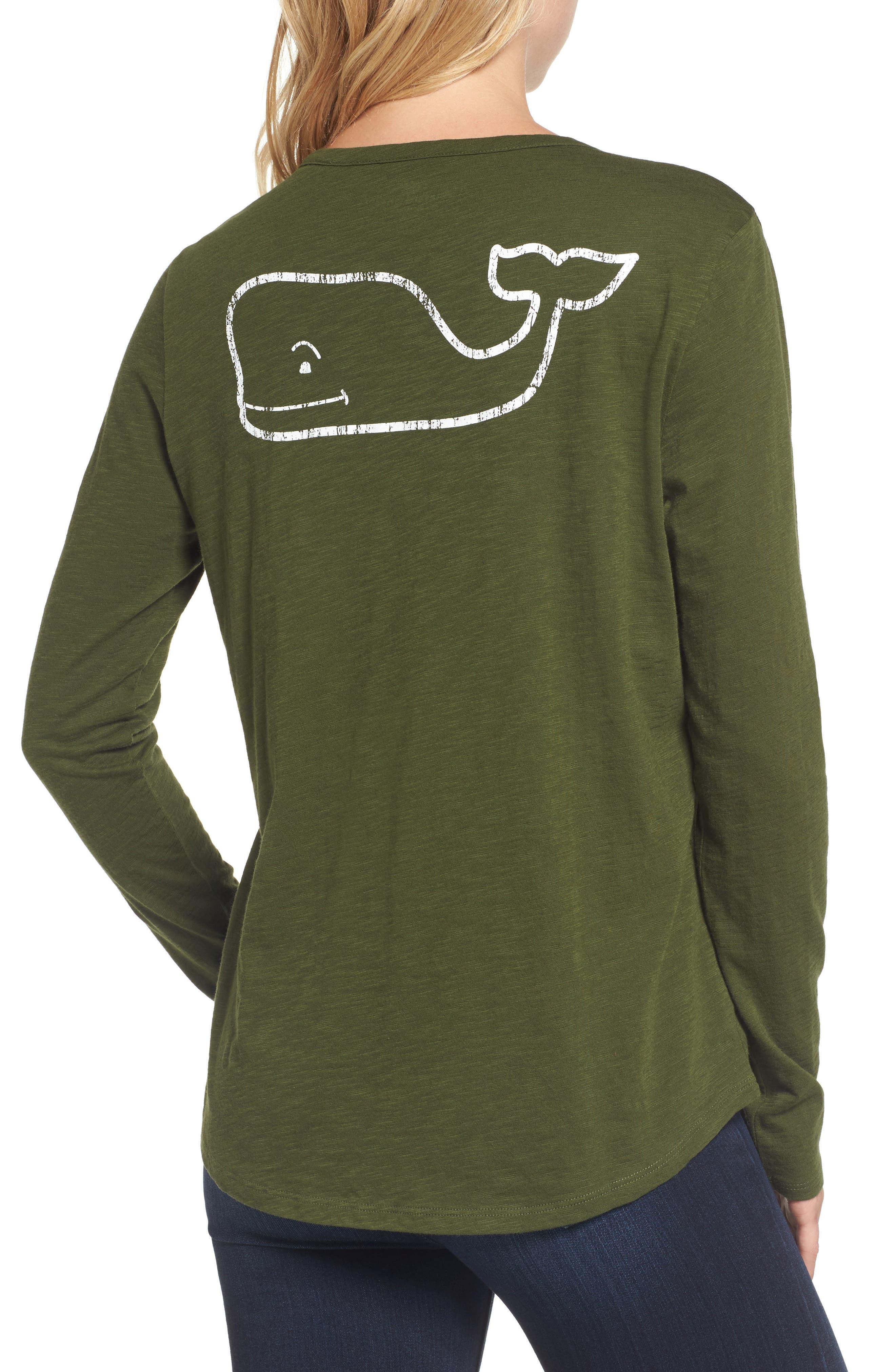 Long Sleeve Logo Tee,                             Alternate thumbnail 2, color,                             321