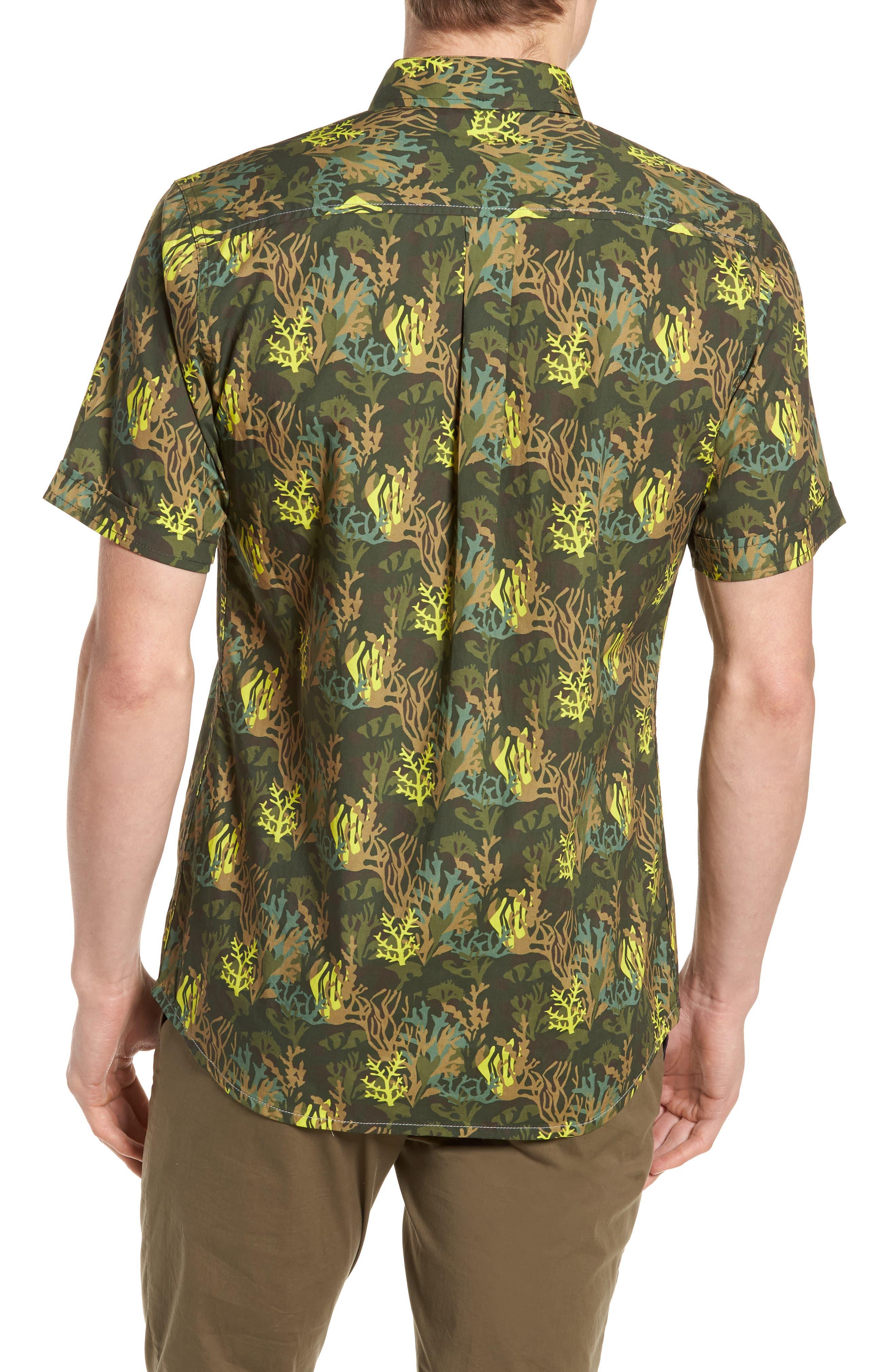 Bottom of The Ocean Woven Shirt,                             Alternate thumbnail 2, color,                             300