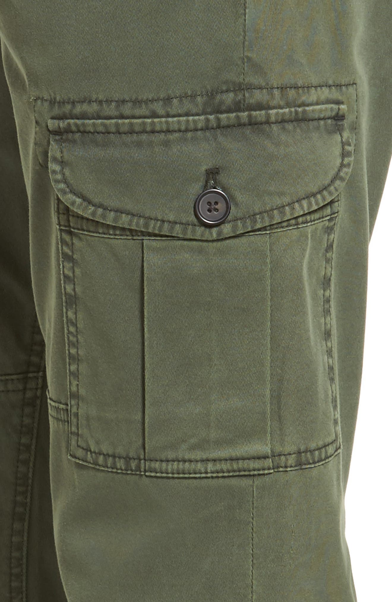 Stretch Twill Cargo Pants,                             Alternate thumbnail 11, color,