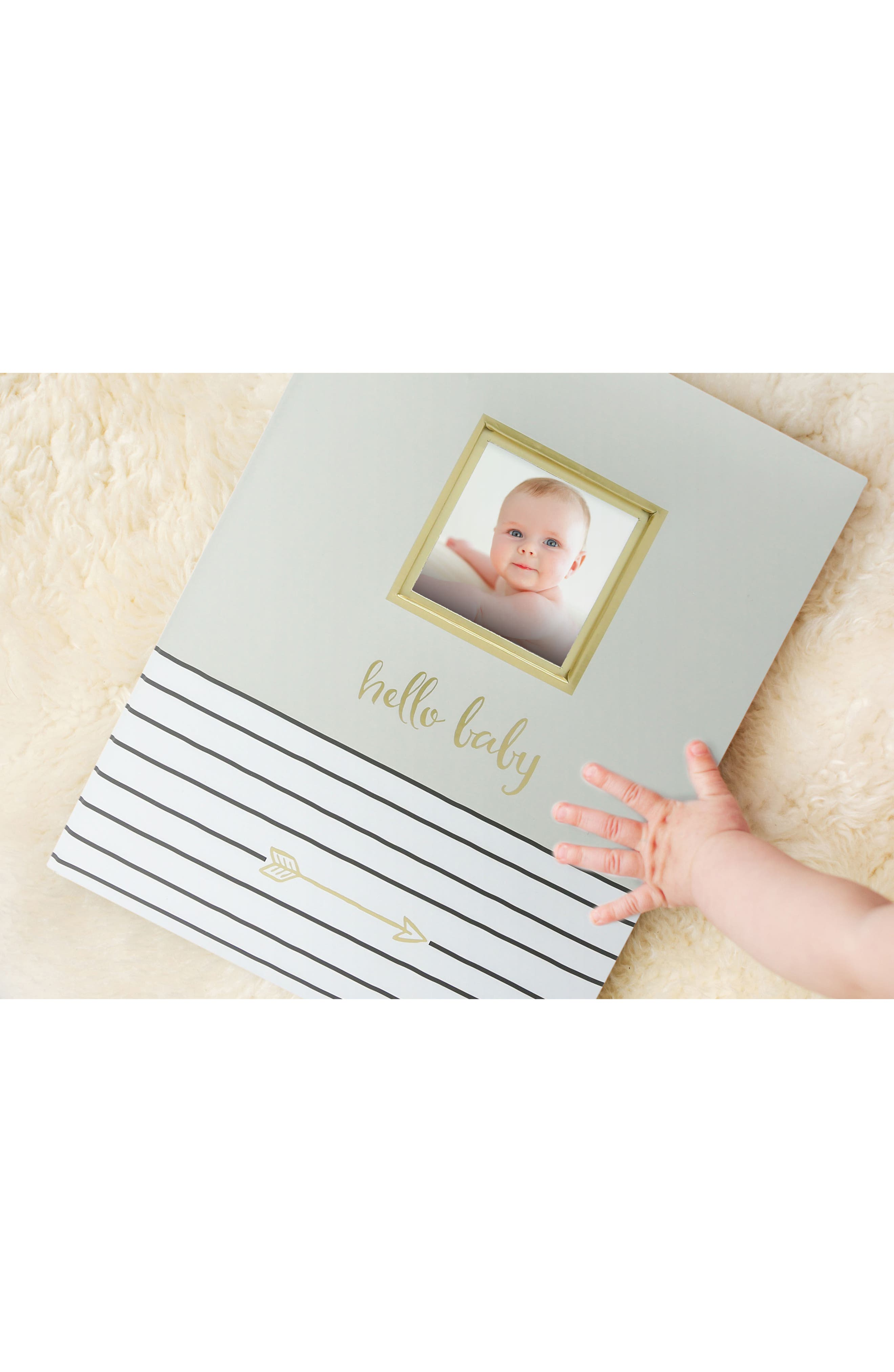 Hello Baby Book,                             Alternate thumbnail 5, color,                             GREY