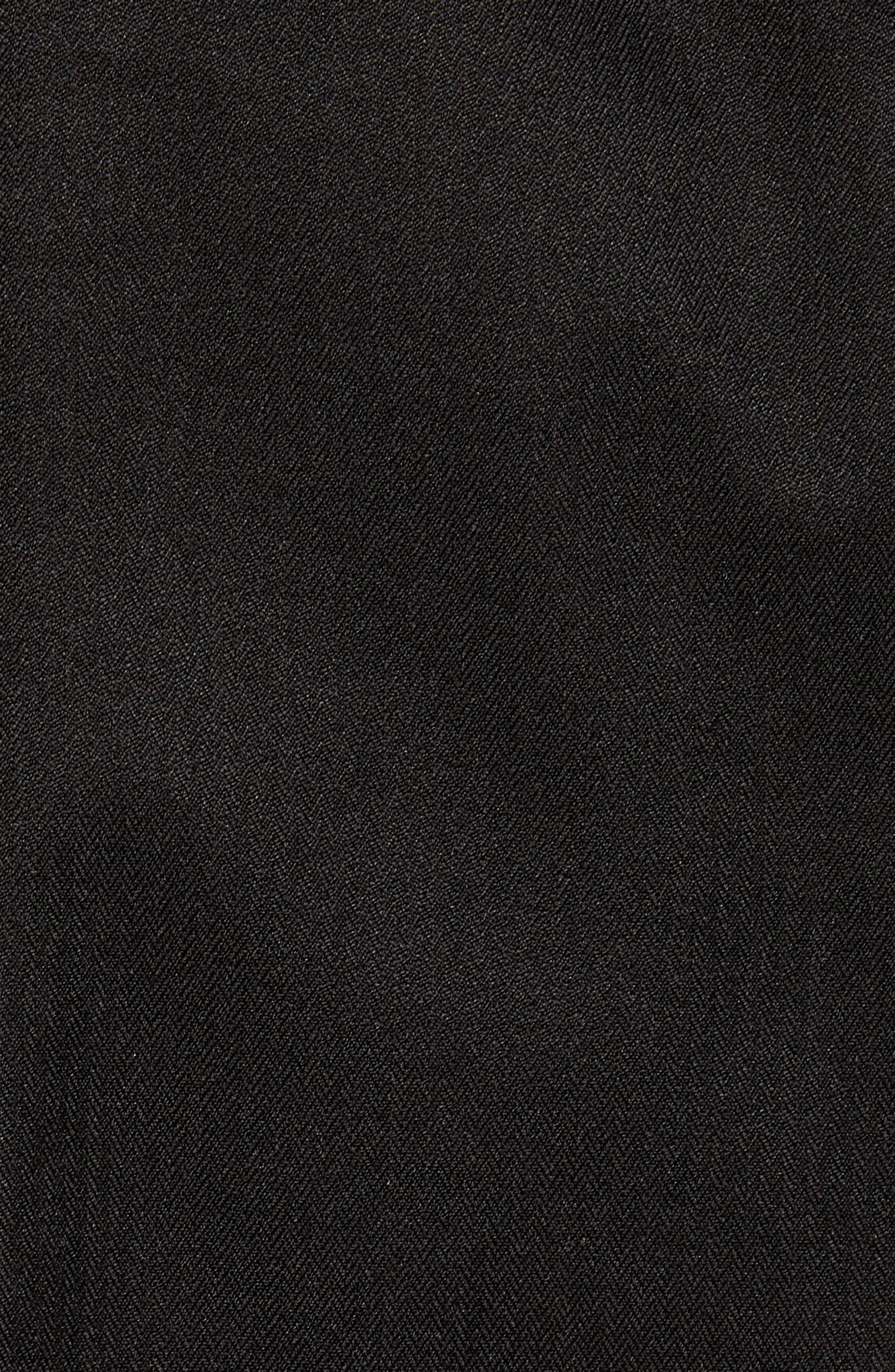 Ash Windproof & Waterproof 650 Fill Power Down Bomber Jacket,                             Alternate thumbnail 7, color,                             BLACK