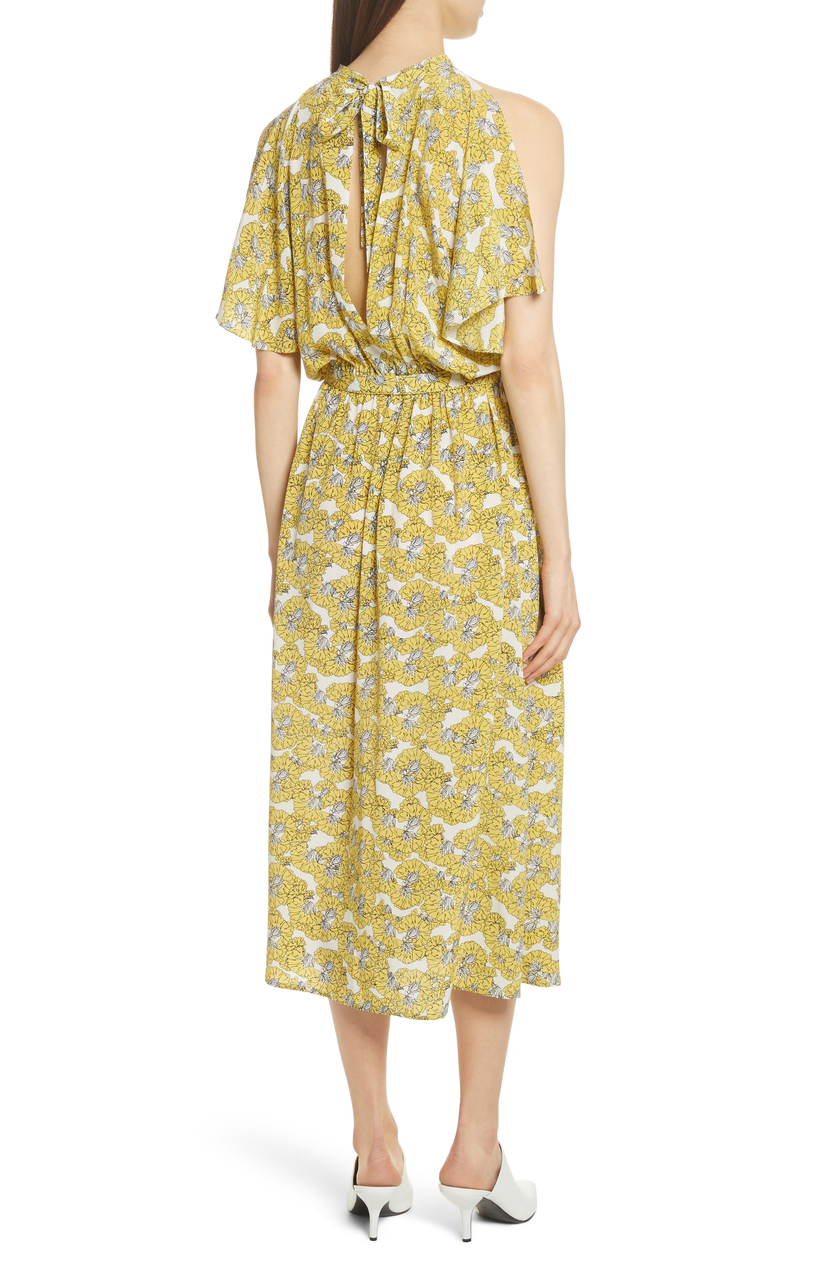 Dania Floral Print Dress,                             Alternate thumbnail 2, color,                             730