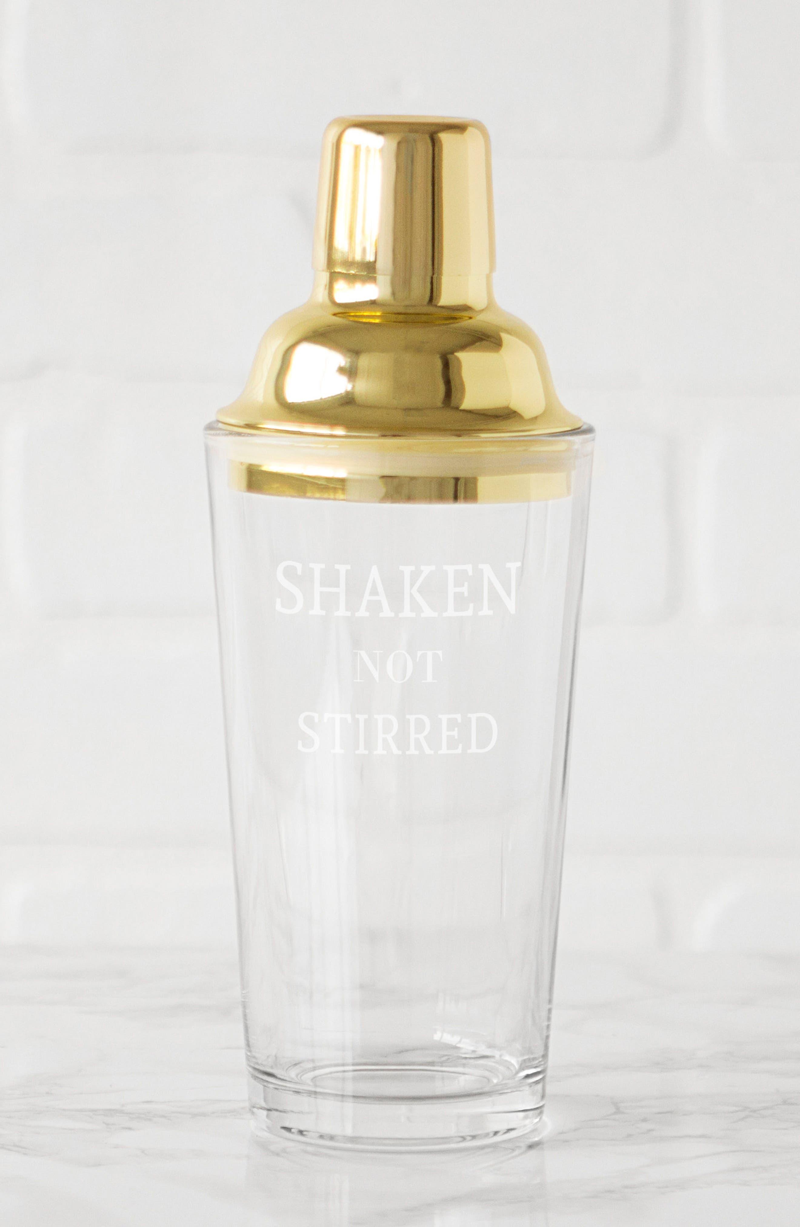 Shaken Not Stirred Cocktail Shaker,                             Alternate thumbnail 15, color,