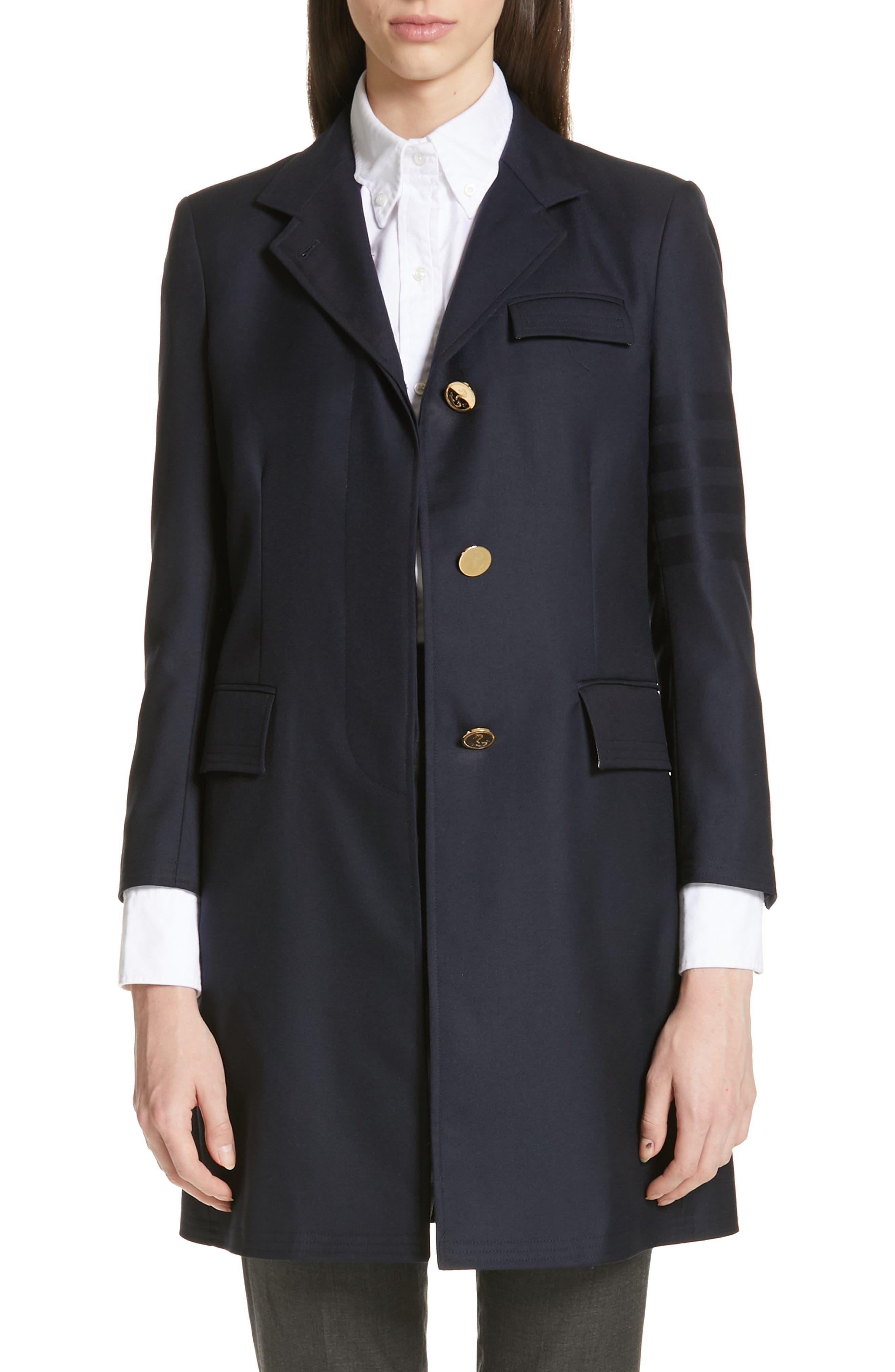 4-Bar Jacket, Main, color, NAVY