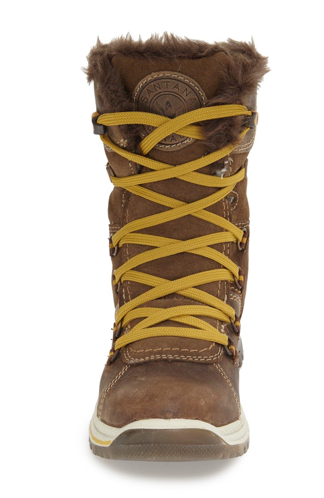 'Majesta' Faux Fur Boot,                             Alternate thumbnail 5, color,