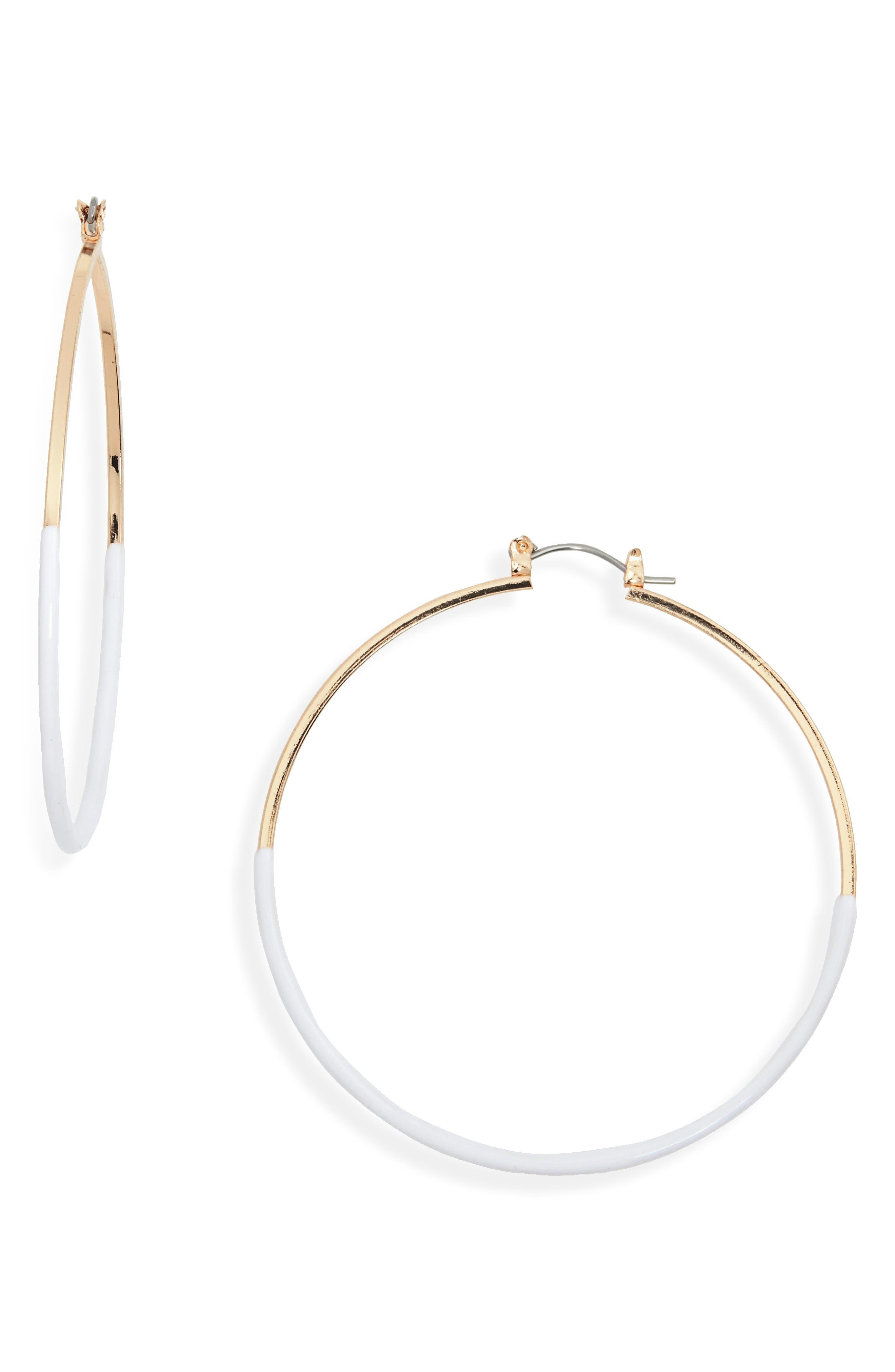 Ariana Hoop Earrings by Stella + Ruby