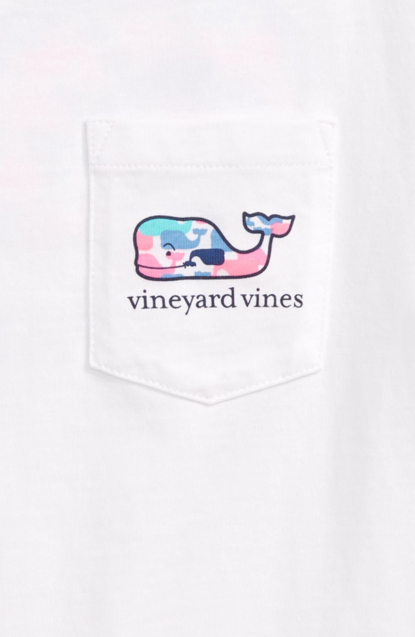 VINEYARD VINES,                             Whale Pocket Tee,                             Alternate thumbnail 3, color,                             100
