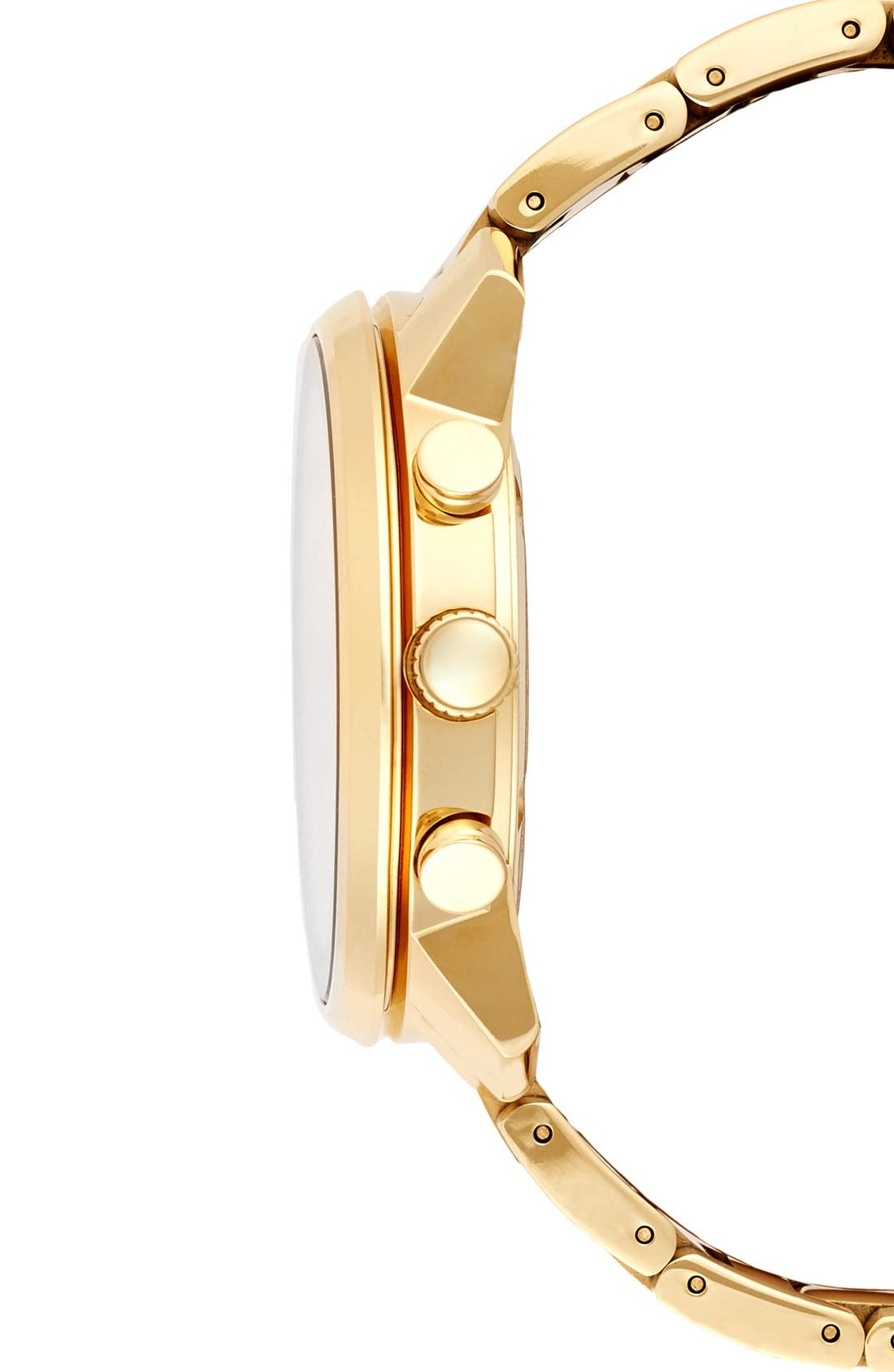 'Bold' Chronograph Bracelet Watch, 44mm,                             Alternate thumbnail 2, color,                             GOLD