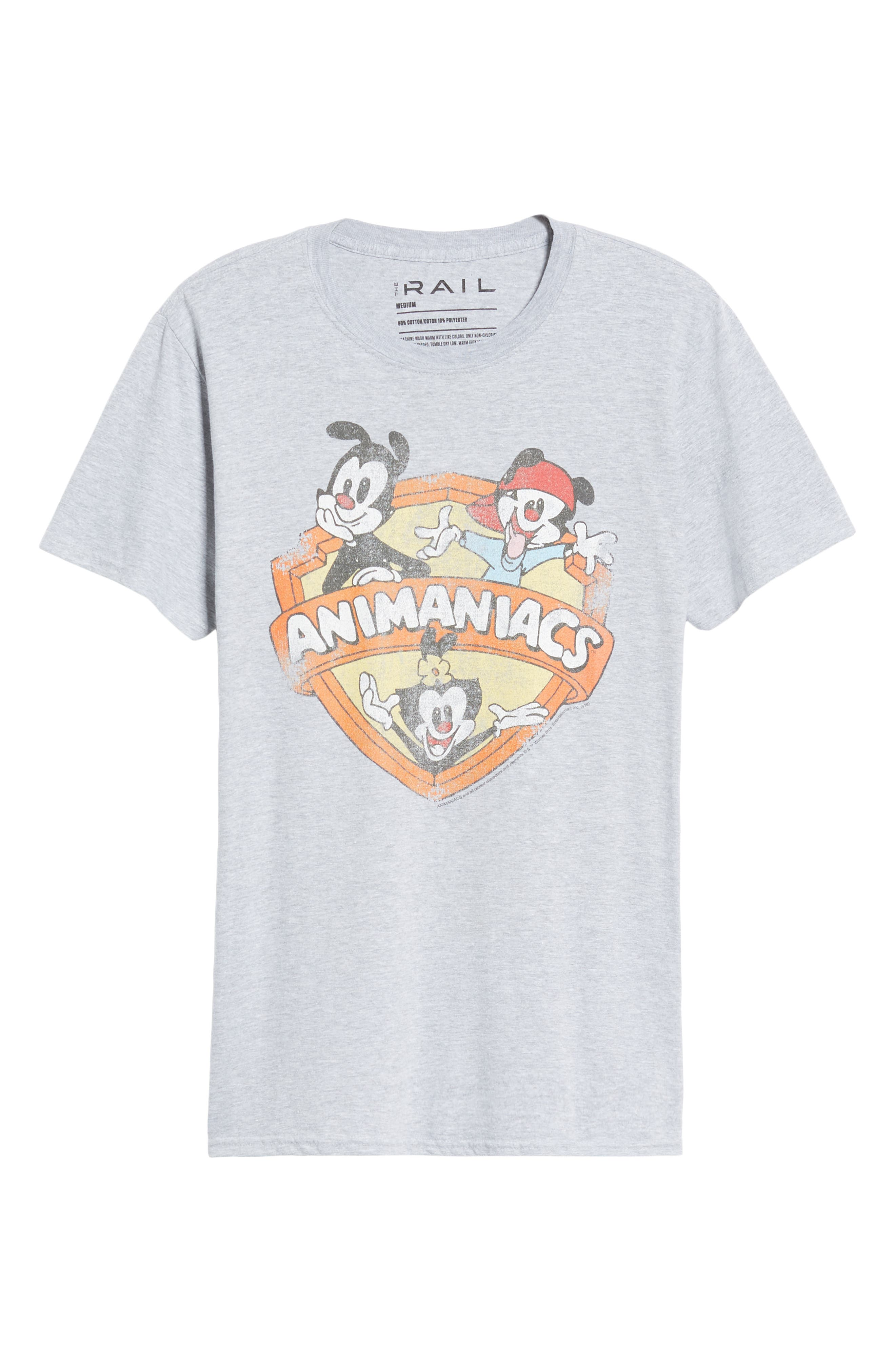 Animaniacs Graphic T-Shirt,                             Alternate thumbnail 6, color,                             050