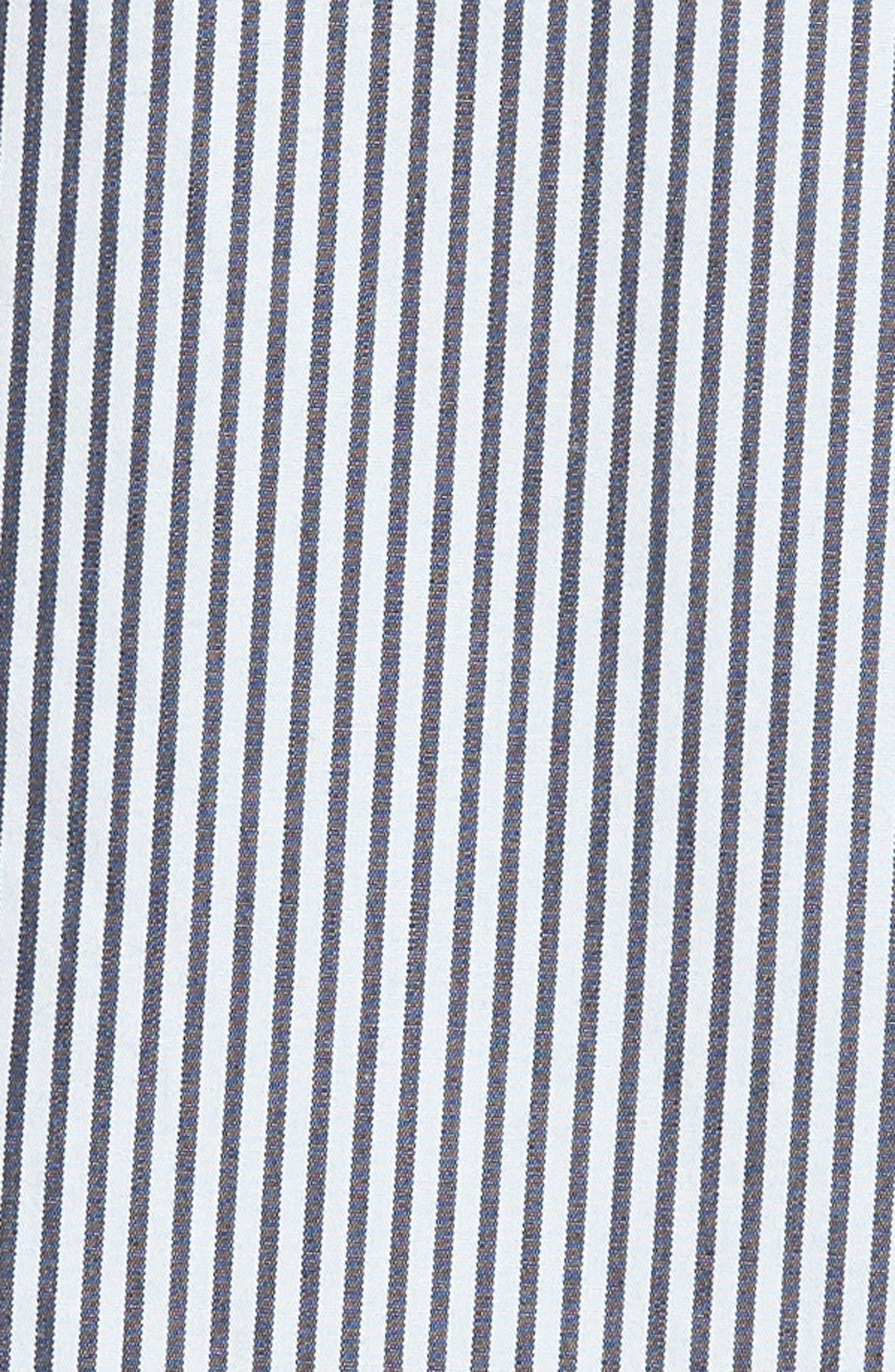 Ruffle Poplin Shirt,                             Alternate thumbnail 5, color,                             460