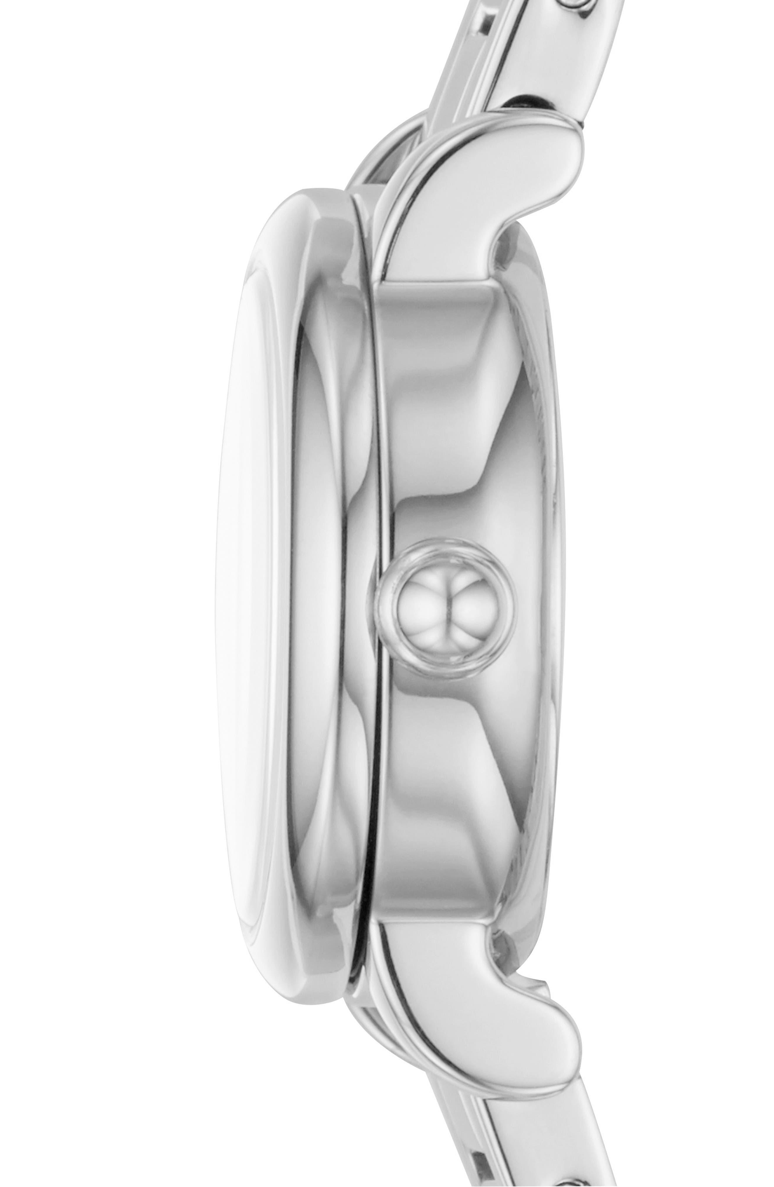 Corie Bracelet Watch, 28mm,                             Alternate thumbnail 4, color,