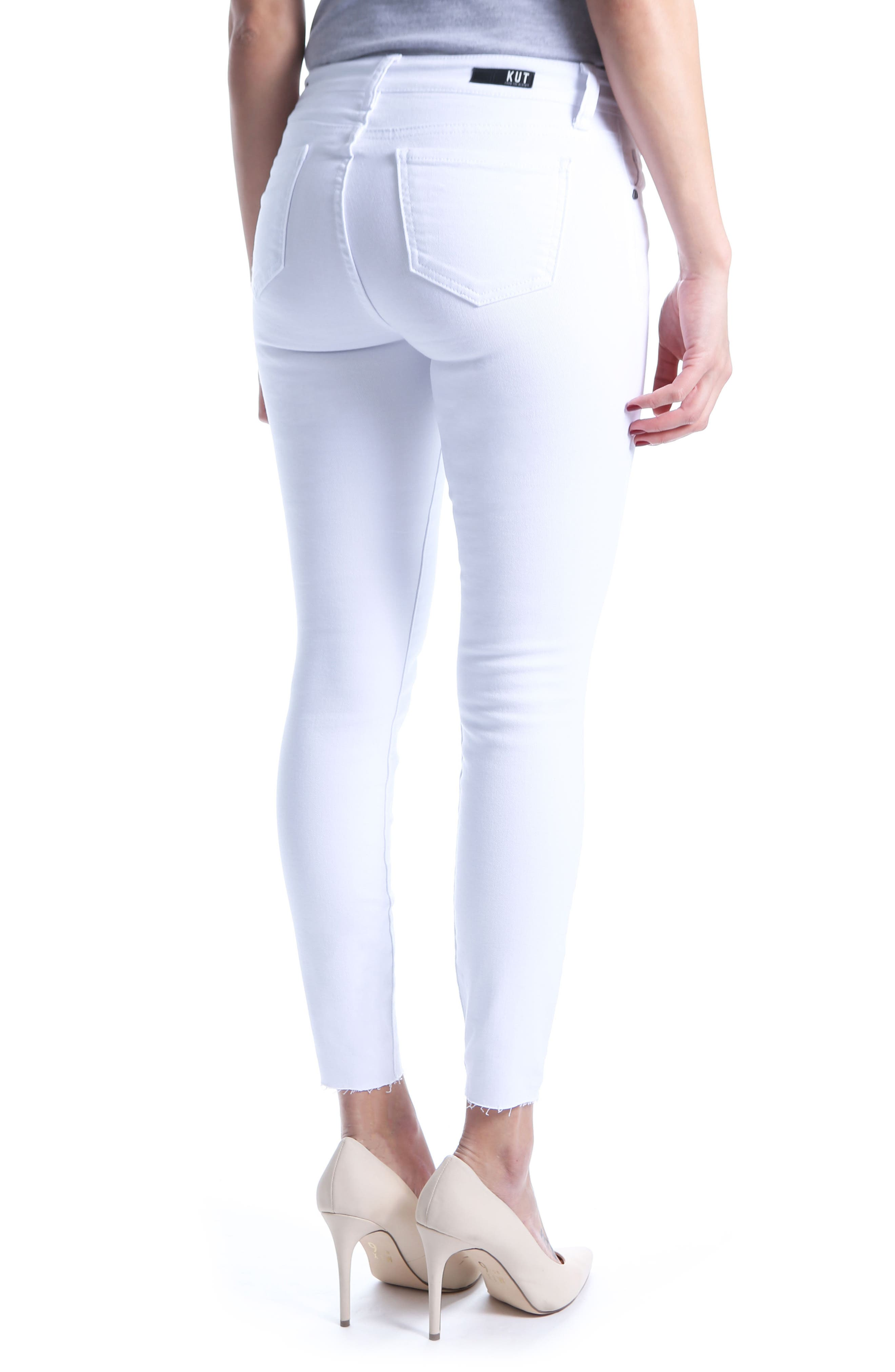 Donna Ankle Skinny Jeans,                             Alternate thumbnail 5, color,