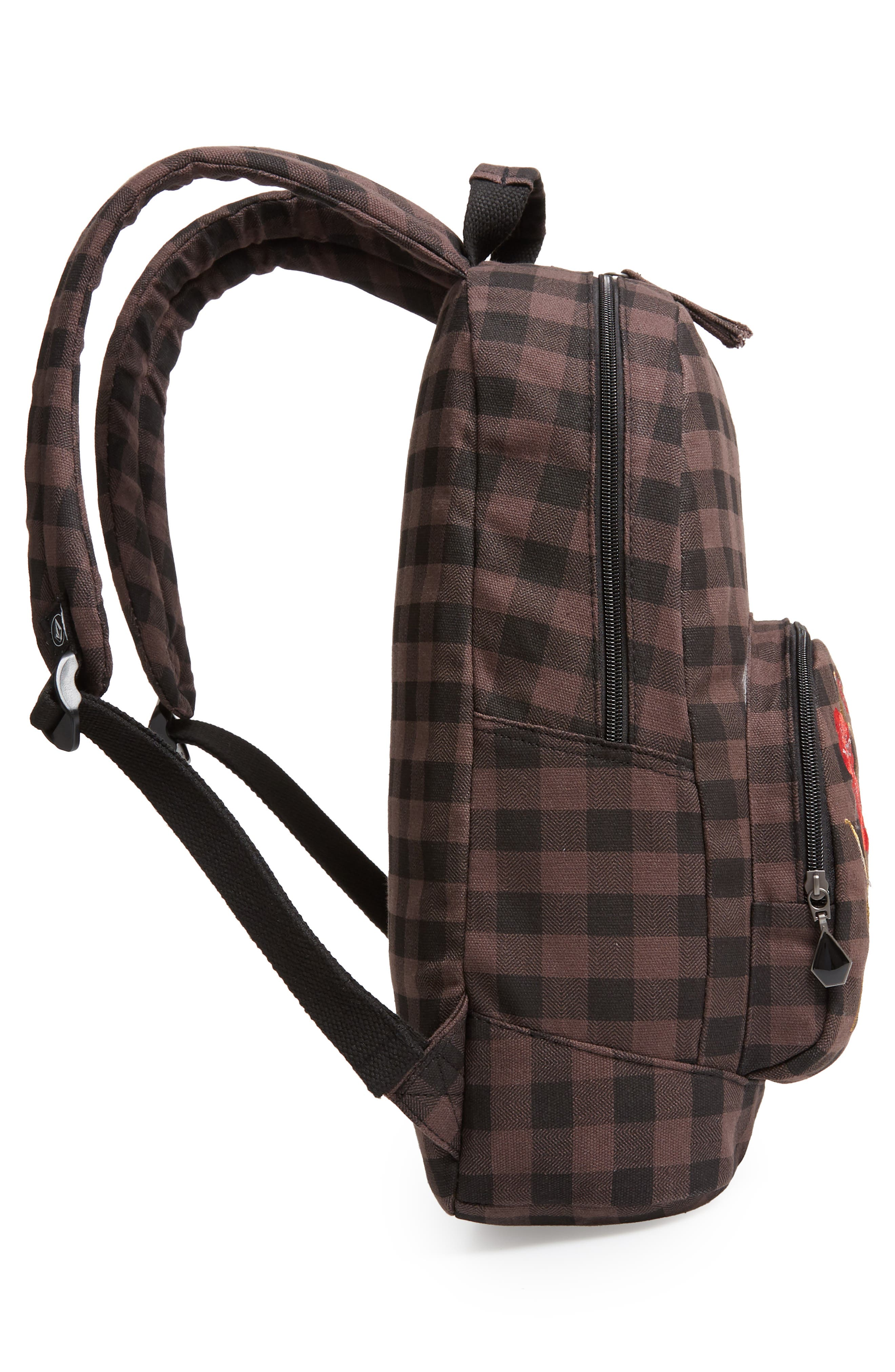 Schoolyard Canvas Backpack,                             Alternate thumbnail 5, color,                             200
