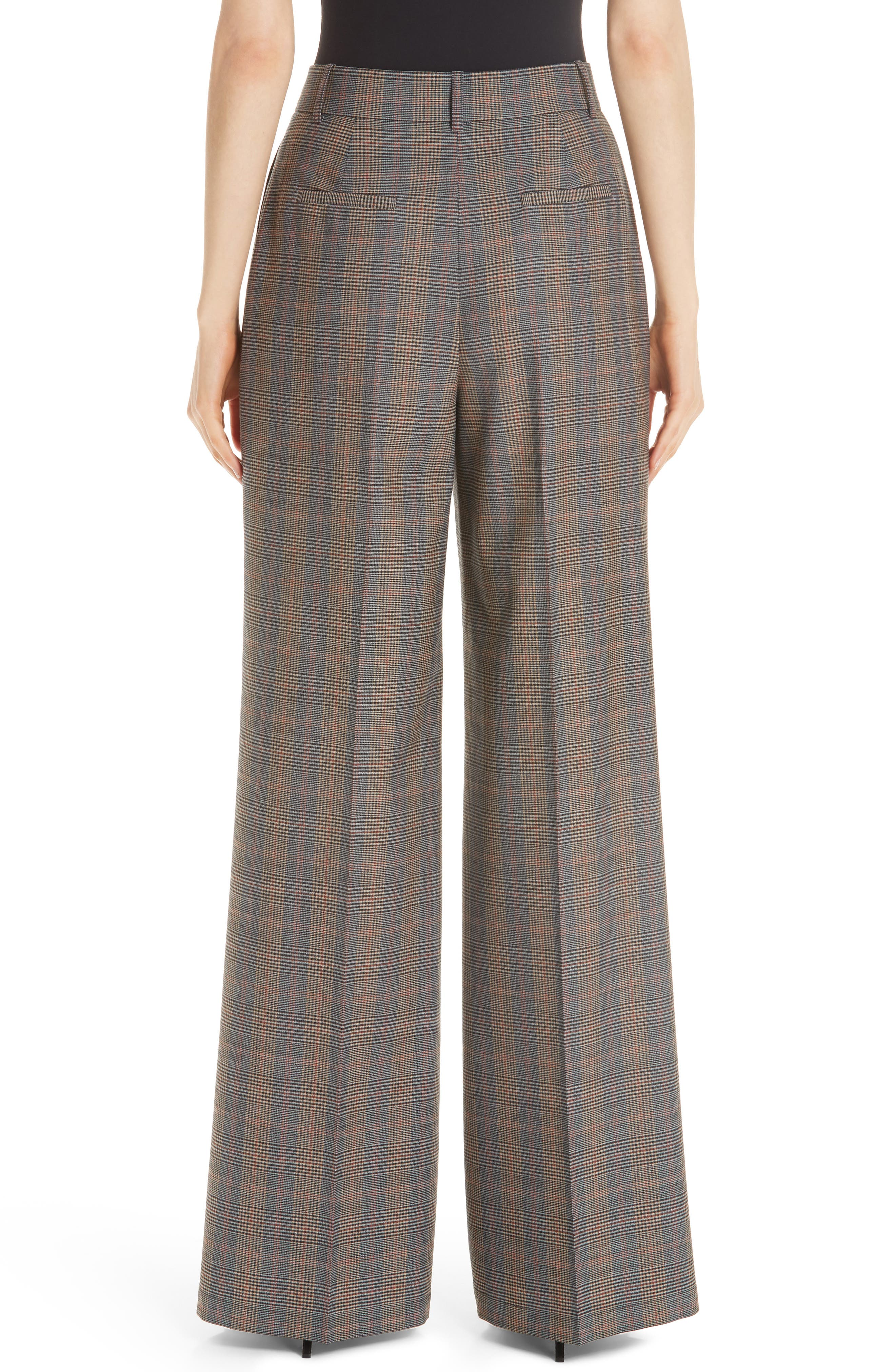Quincy Stretch Wool Pants,                             Alternate thumbnail 2, color,                             SUNSTONE MULTI