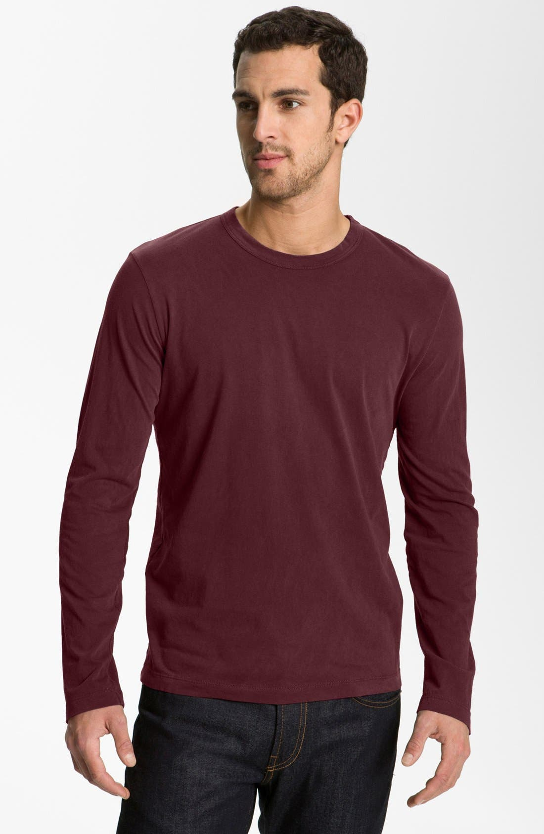 Long Sleeve Crewneck T-Shirt,                             Main thumbnail 32, color,