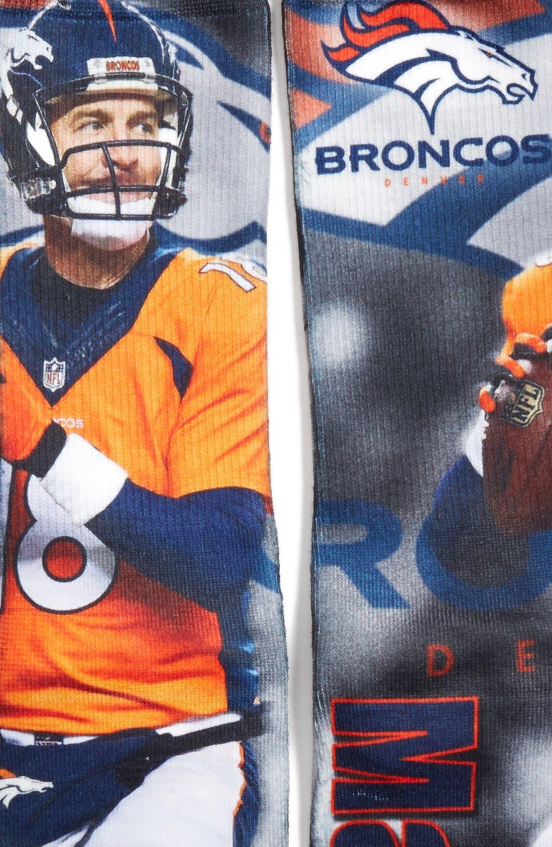 'Denver Broncos - Peyton Manning' Socks,                             Alternate thumbnail 2, color,                             001