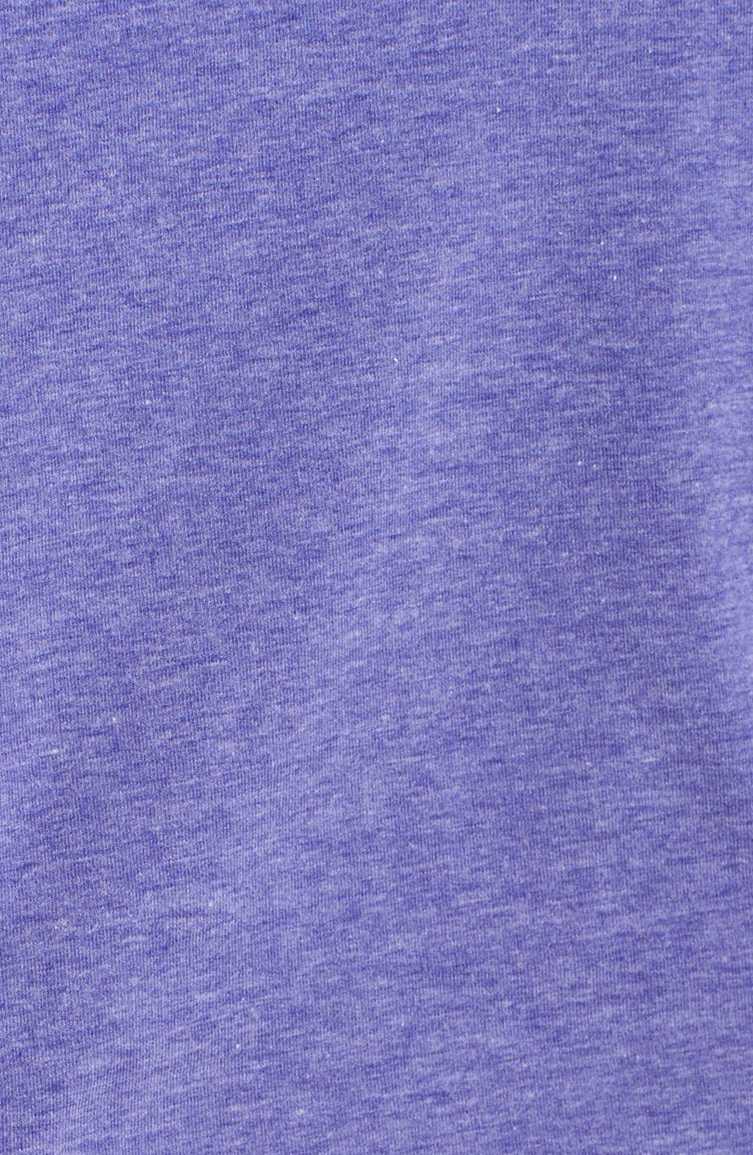 'Z 6' Ruched Tee,                             Alternate thumbnail 42, color,
