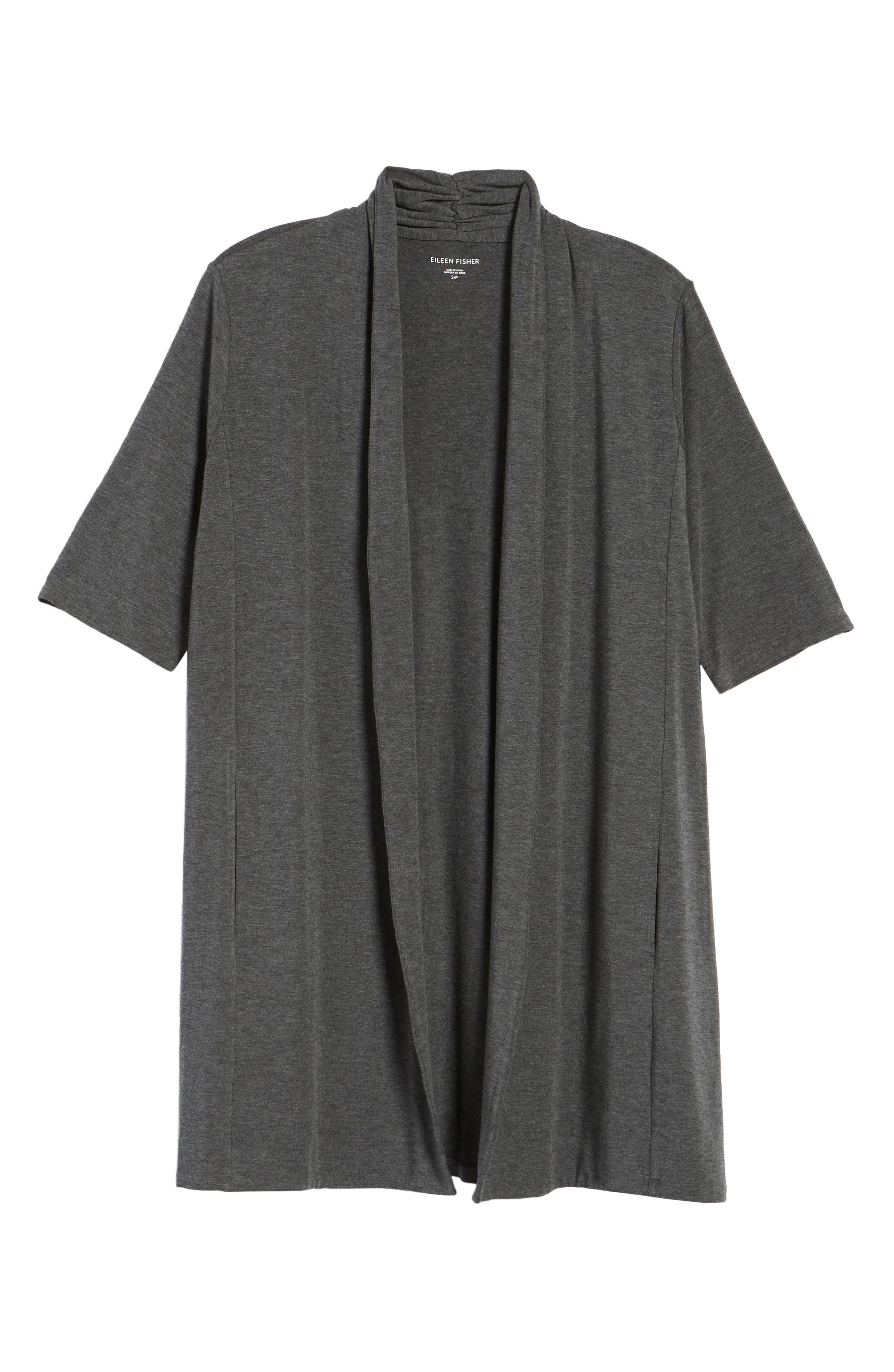 Tencel<sup>®</sup> Kimono Cardigan,                             Alternate thumbnail 6, color,                             030
