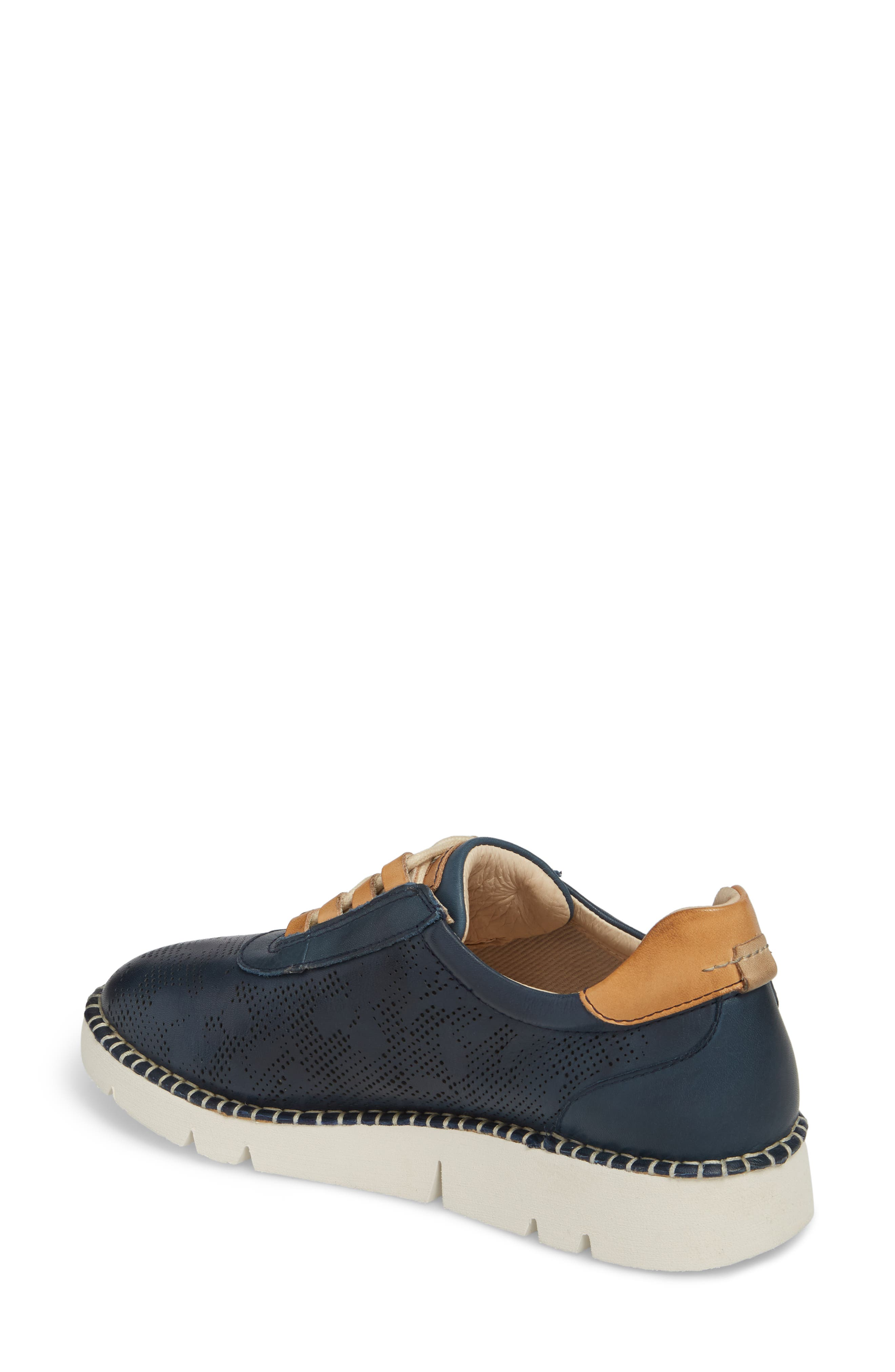 Vera Sneaker,                             Alternate thumbnail 2, color,                             OCEAN LEATHER
