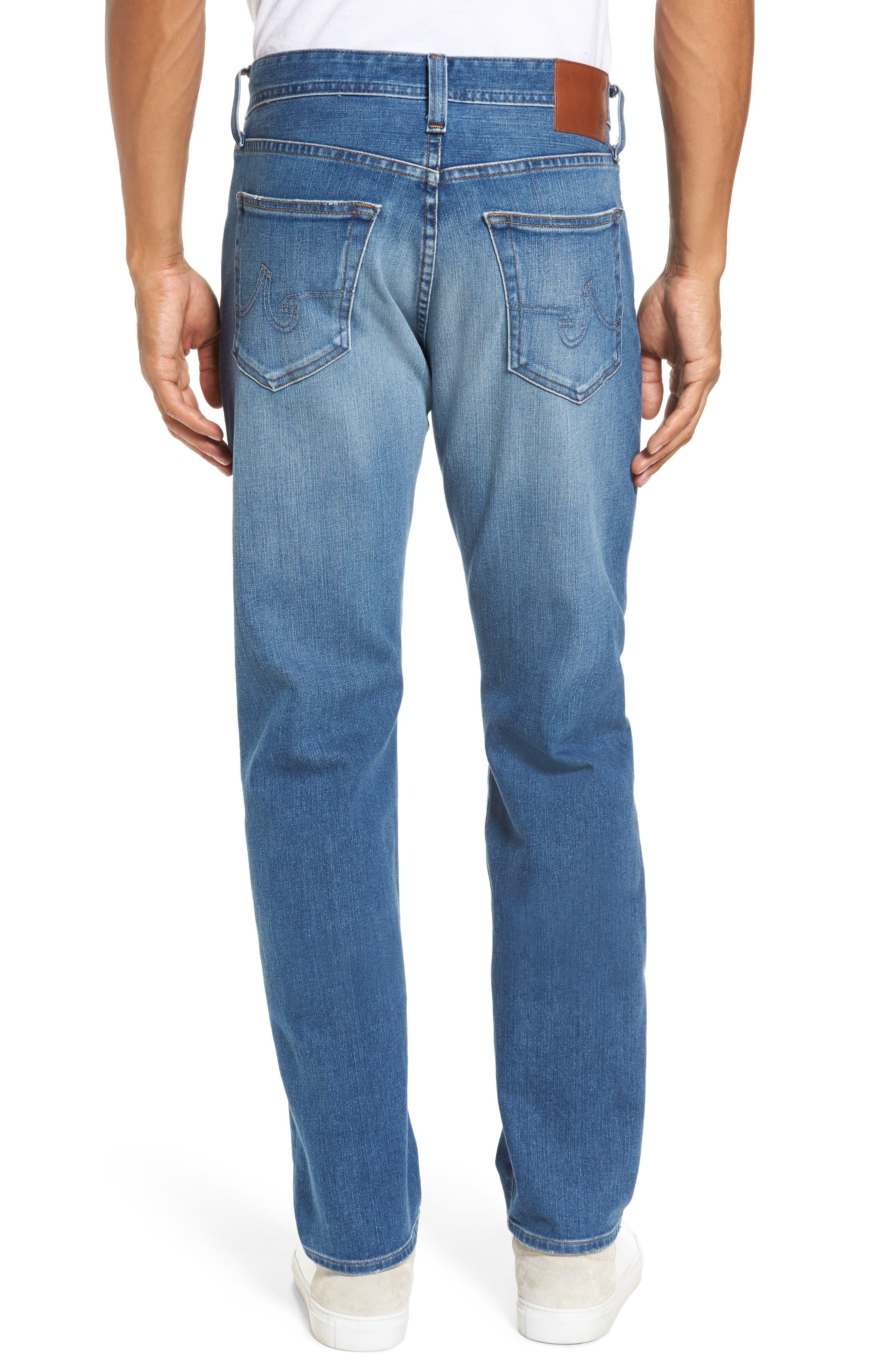 Graduate Slim Straight Fit Jeans,                             Alternate thumbnail 2, color,                             456