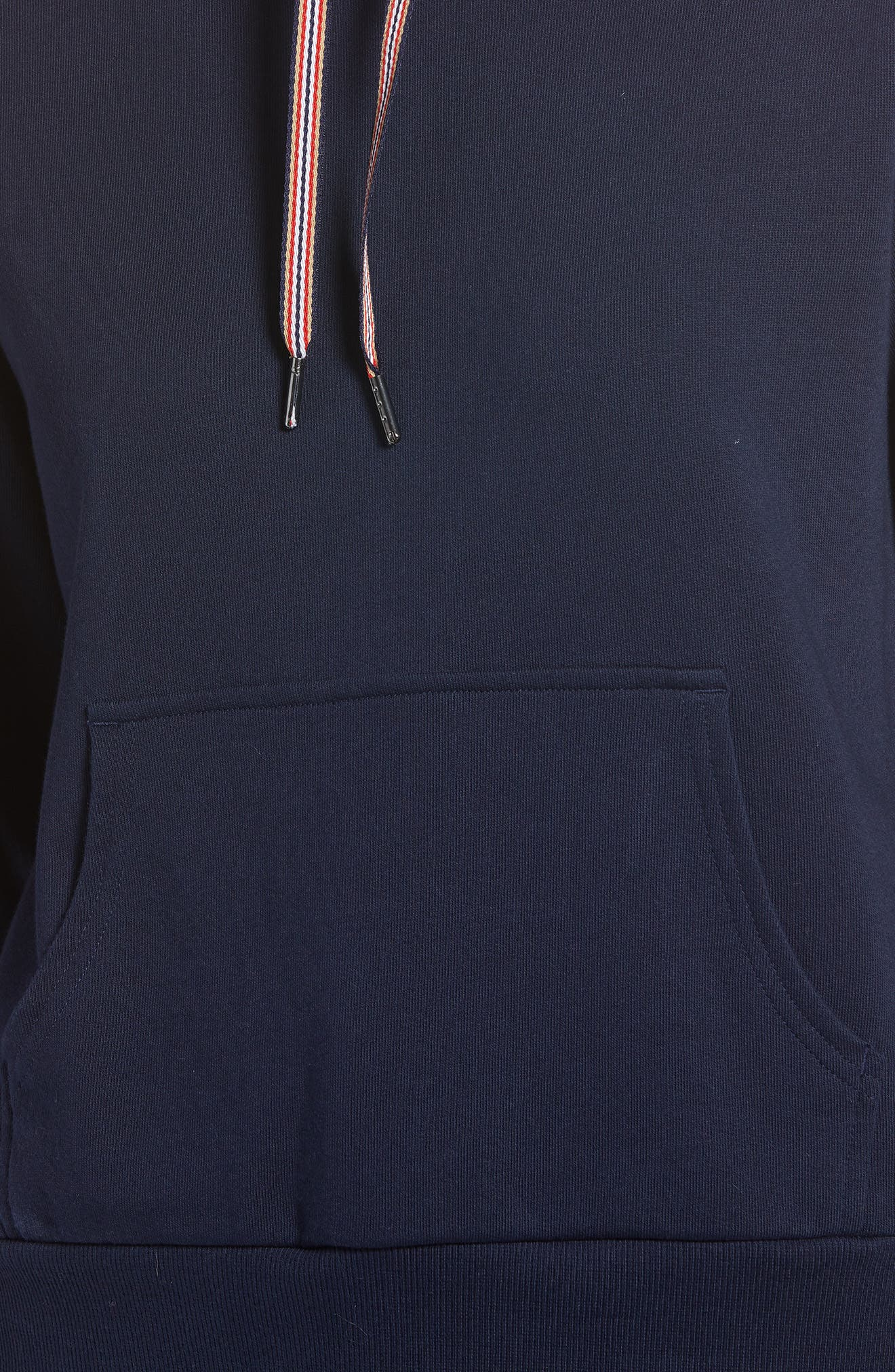 Stretch Cotton Hoodie,                             Alternate thumbnail 5, color,                             410
