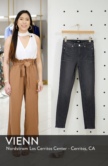 Hoxton Transcend High Waist Skinny Jeans, sales video thumbnail