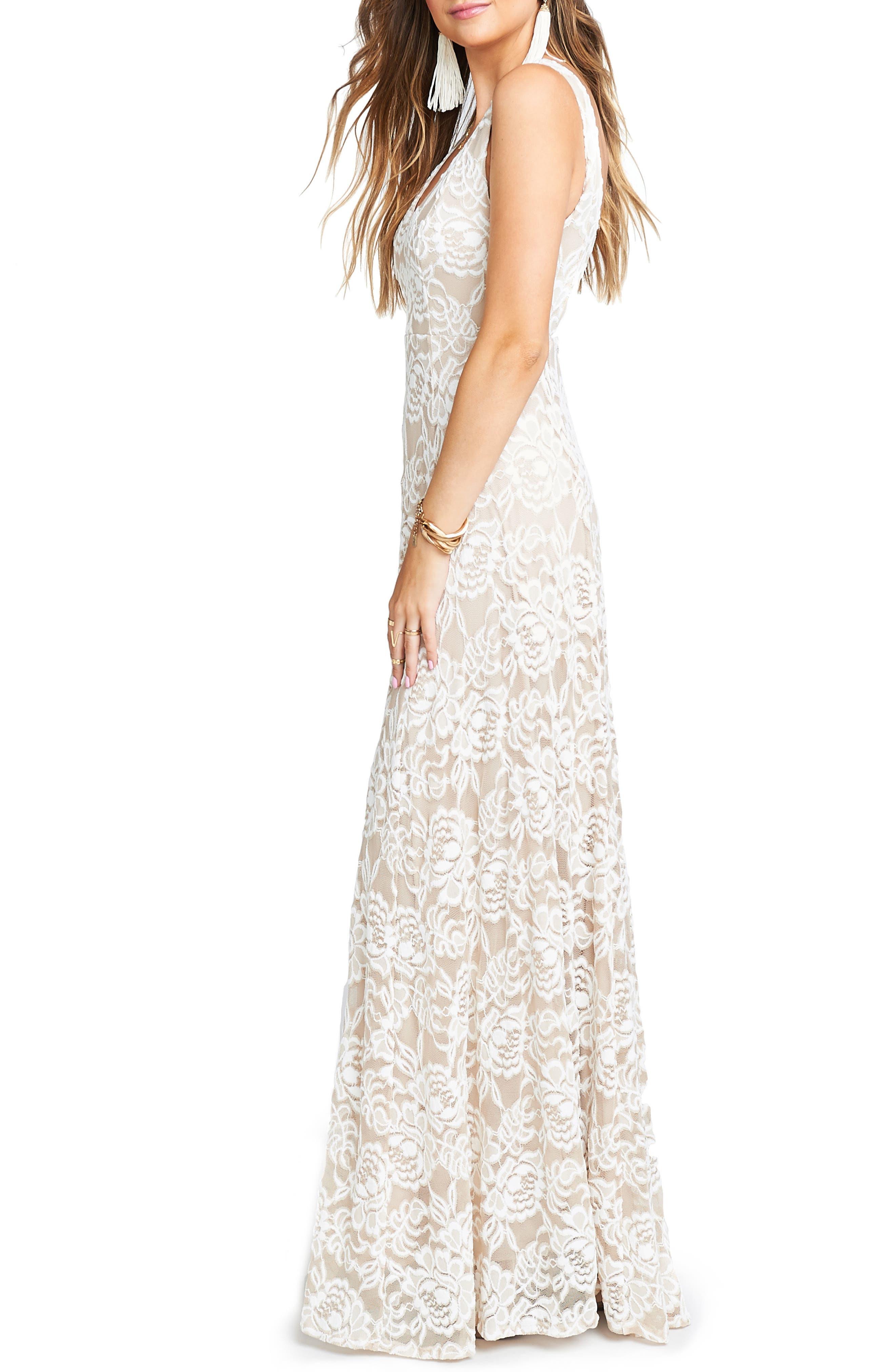 Jen Lace Dress,                             Alternate thumbnail 3, color,                             LOVERS LACE SHOW ME THE RING